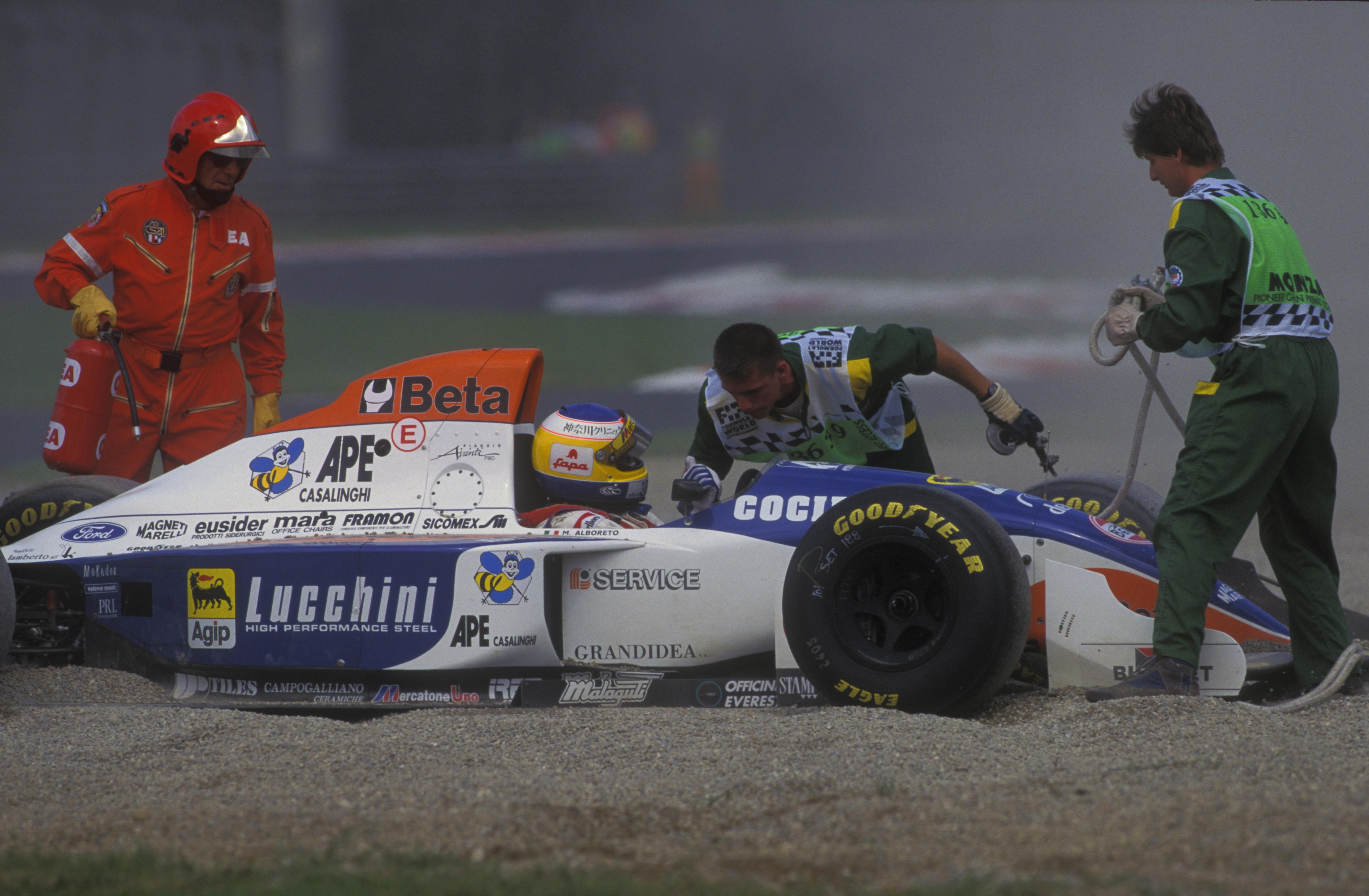 Michele Alboreto Minardi F1 1994