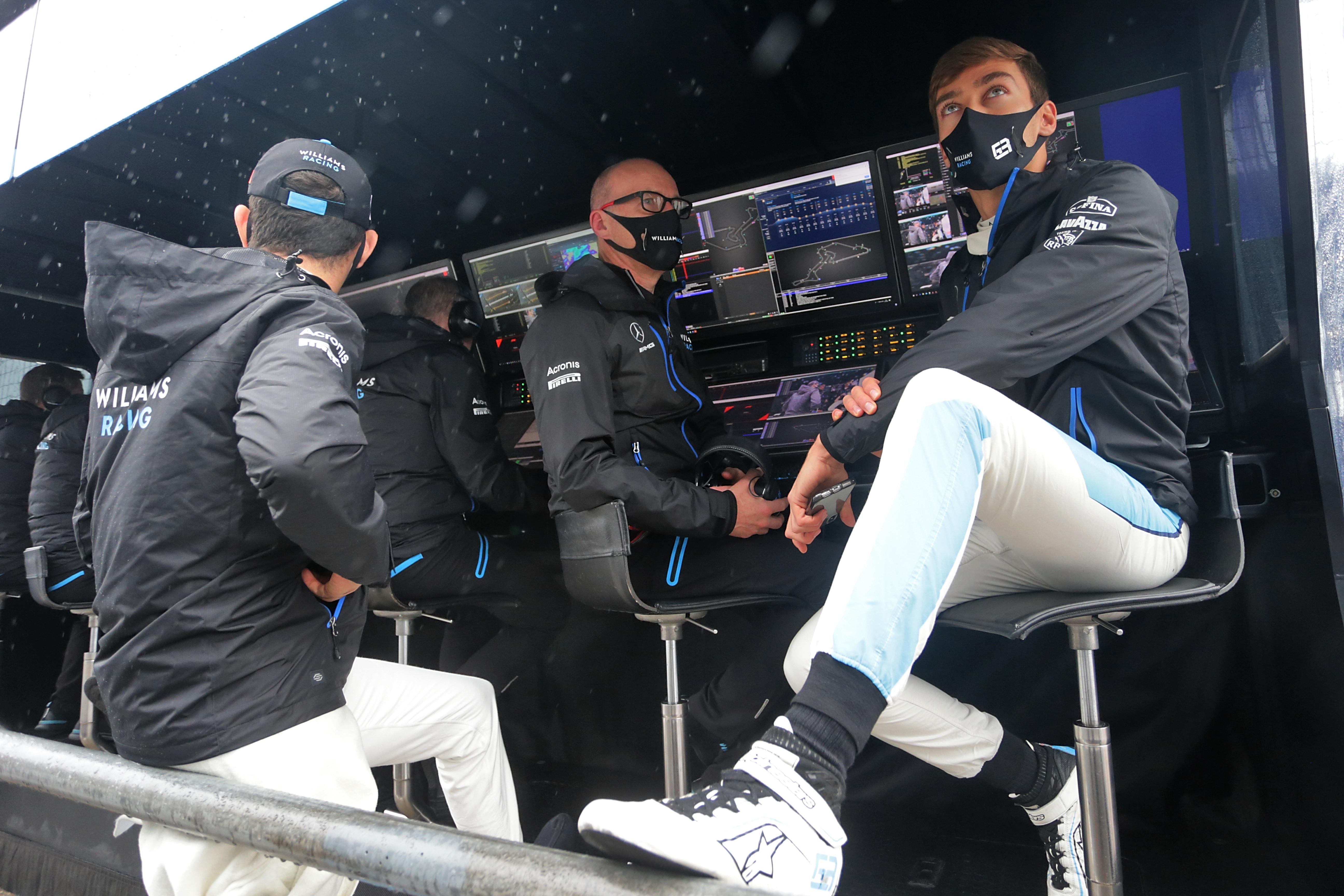Simon Roberts George Russell Nicholas Latifi Williams F1 2020