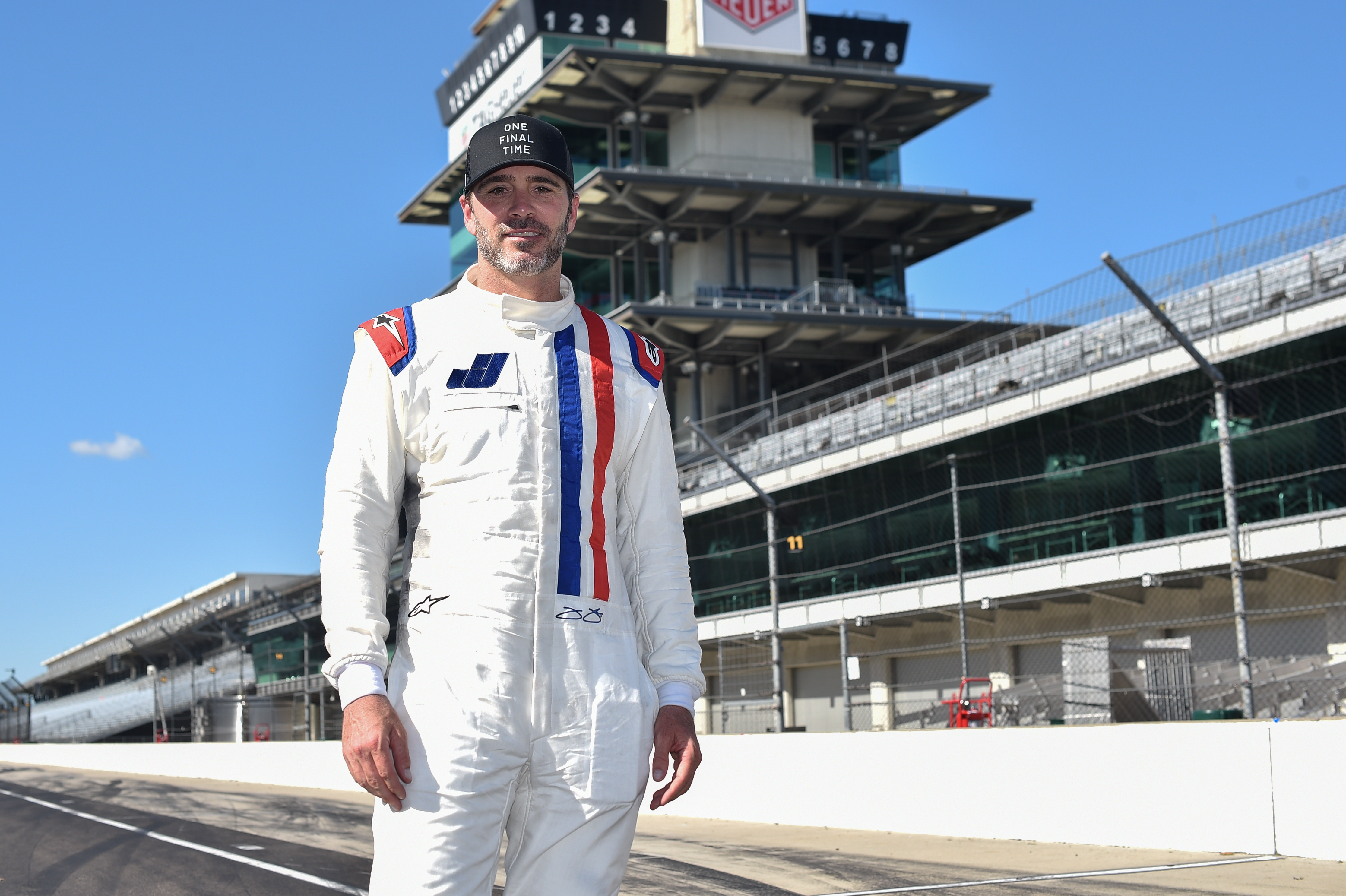 Jimmie Johnson Indycar test Indianapolis 2020