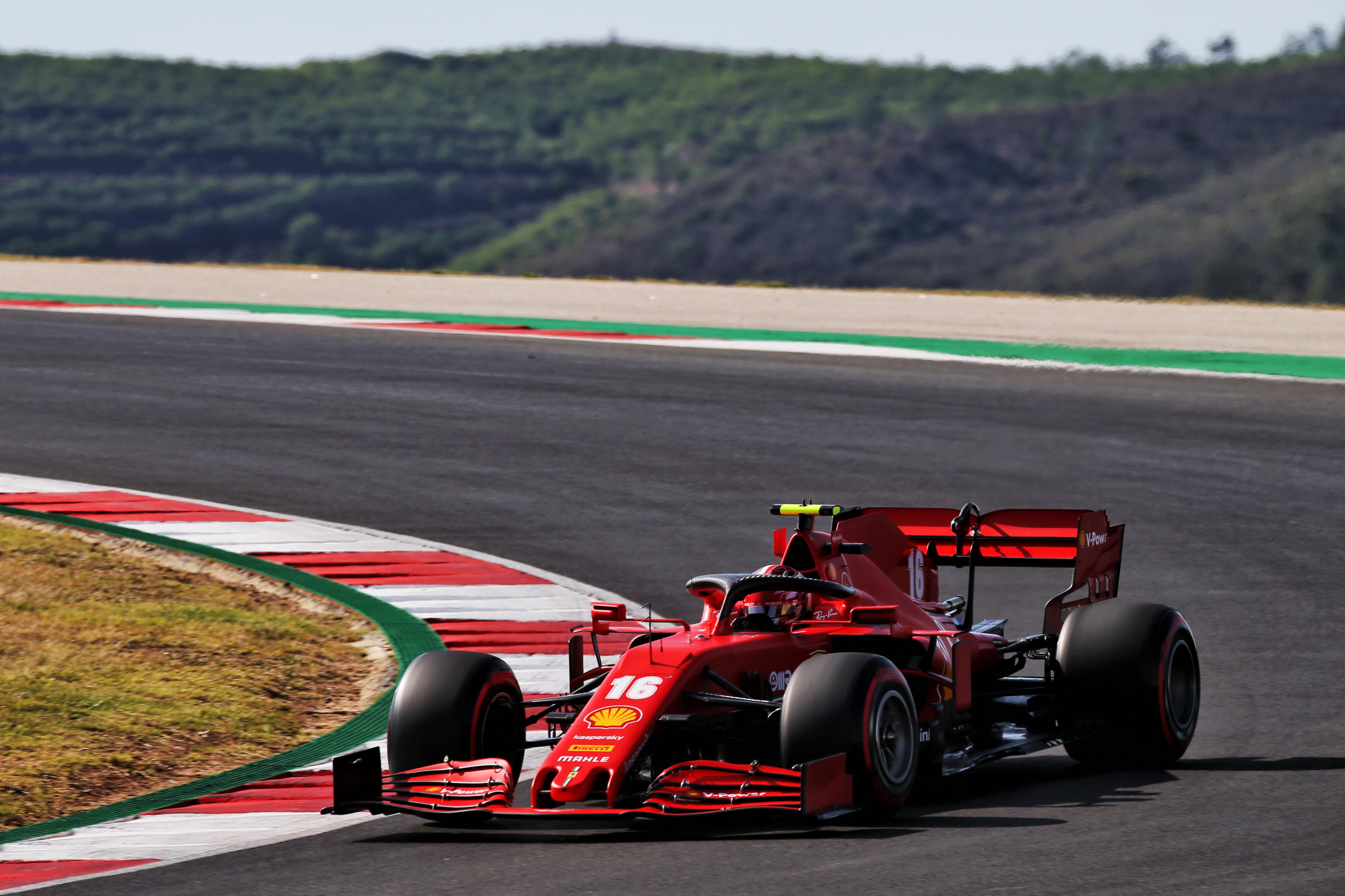 Charles Leclerc Ferrari F1 2020 Portugal Algarve