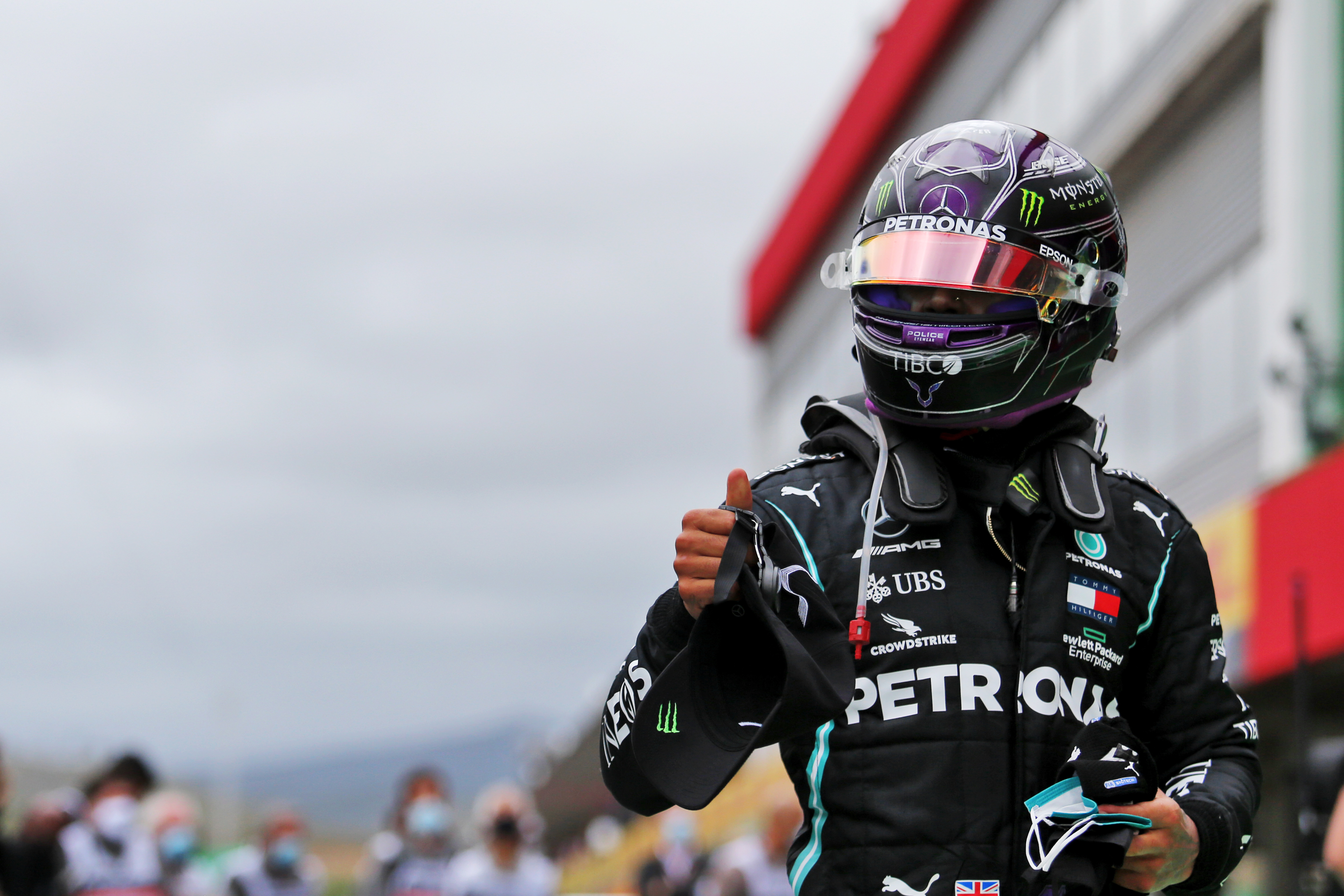 Motor Racing Formula One World Championship Portuguese Grand Prix Race Day Portimao, Portugal