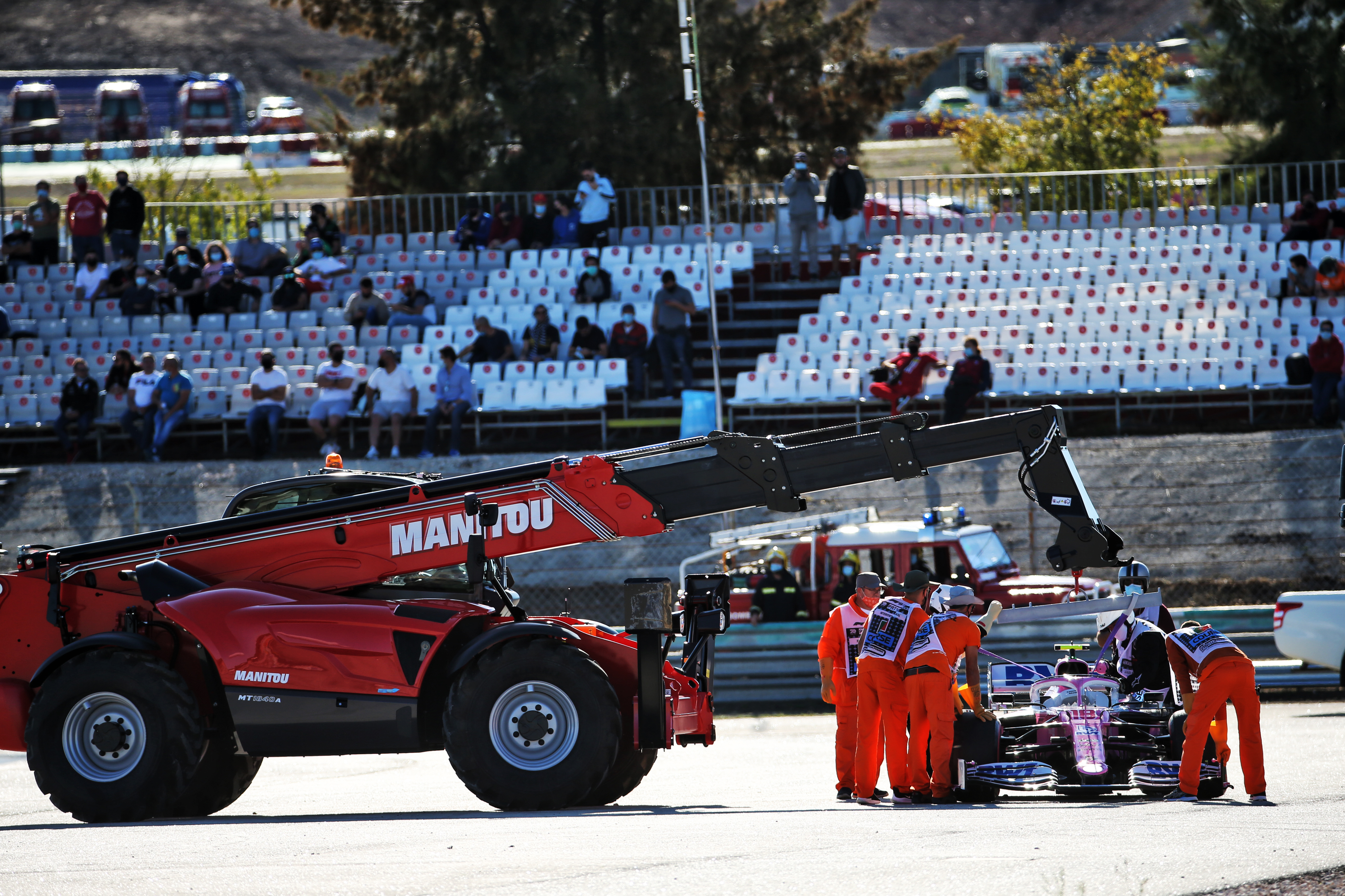 Motor Racing Formula One World Championship Portuguese Grand Prix Practice Day Portimao, Portugal