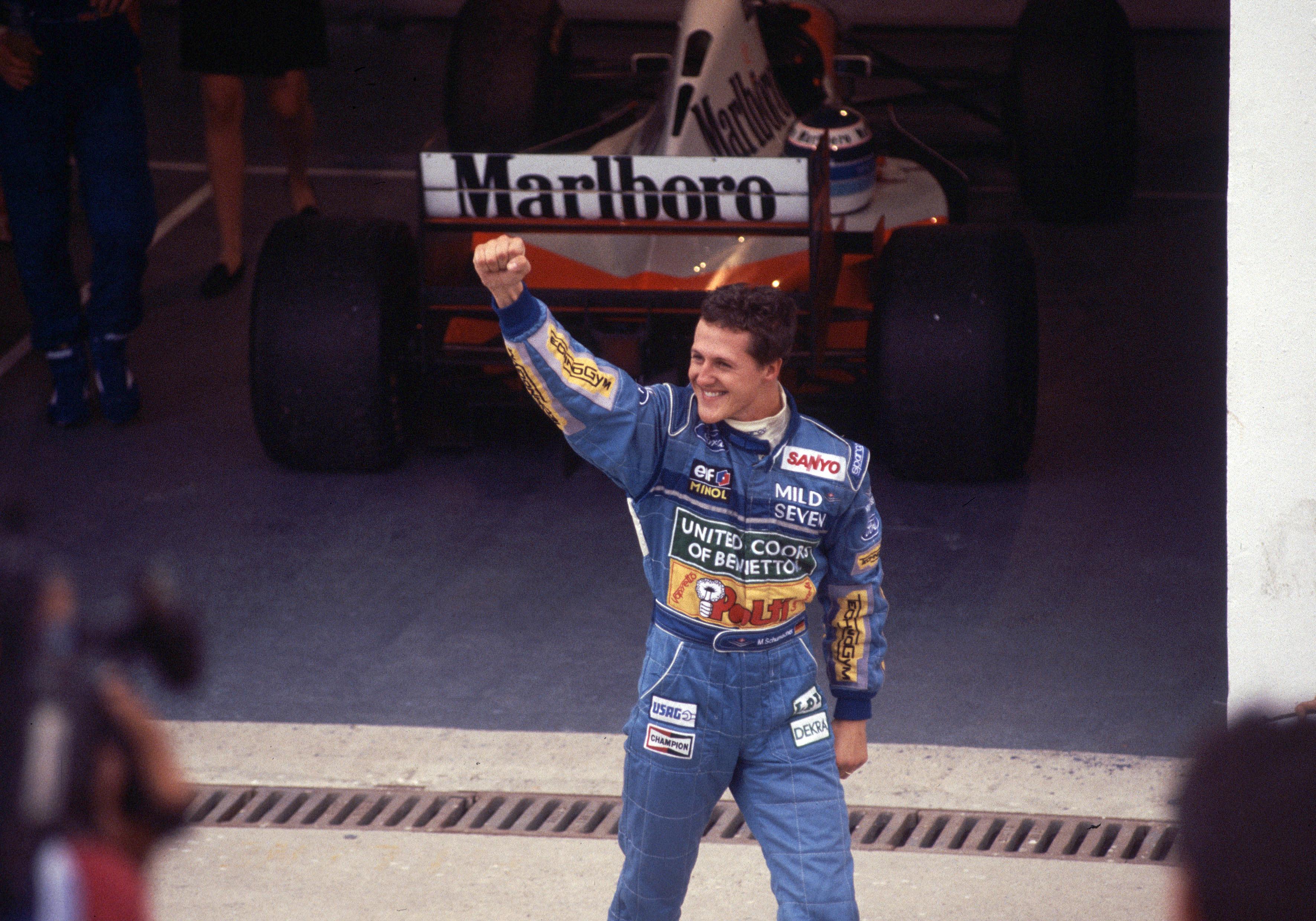 Michael Schumacher F1 win Benetton 1994