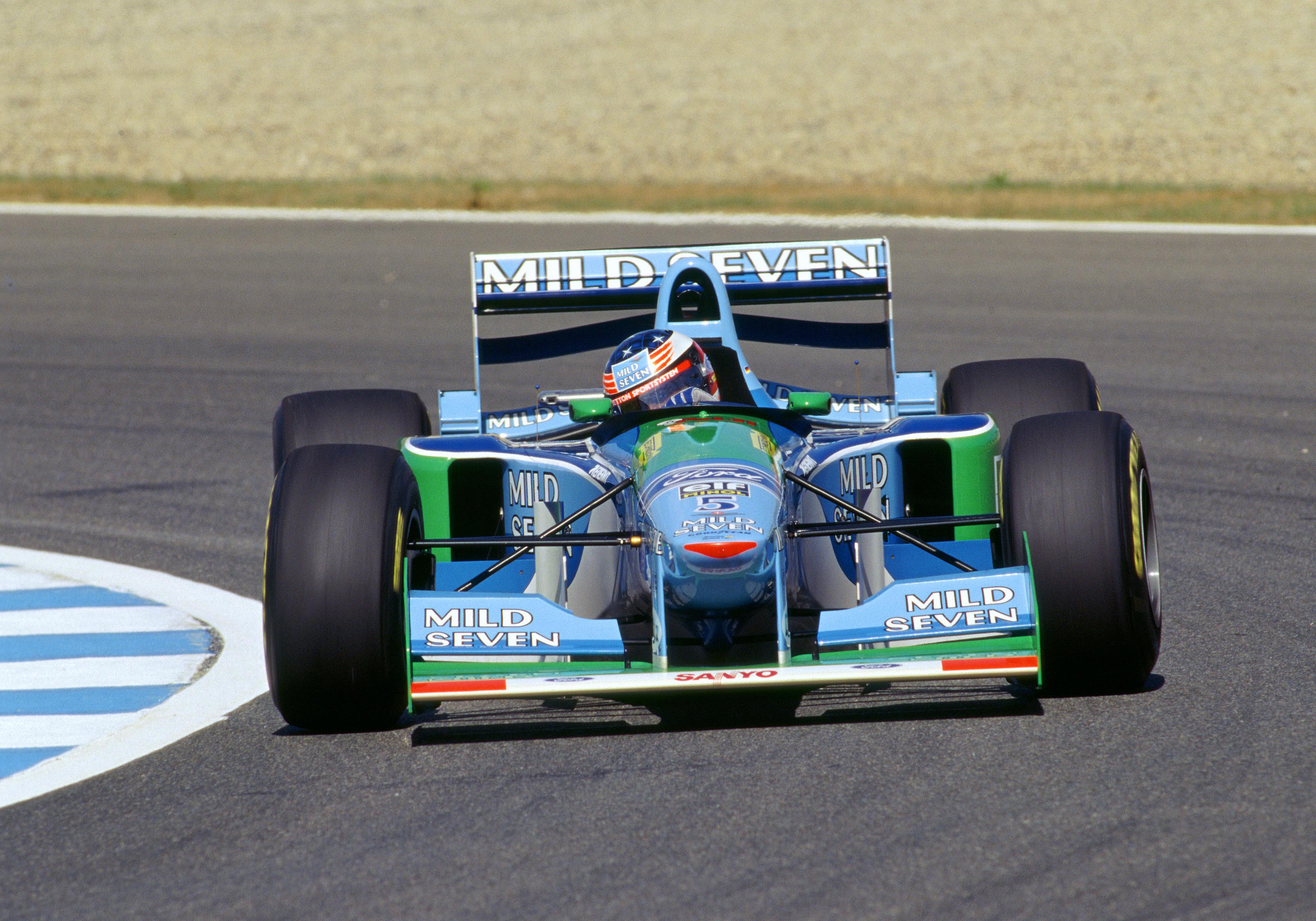 Michael Schumacher Benetton F1 1994