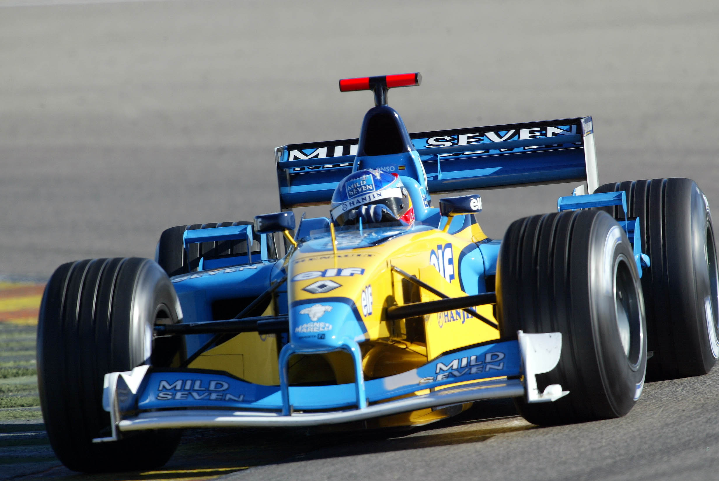 Fernando Alonso, Renault, F1, Valencia test