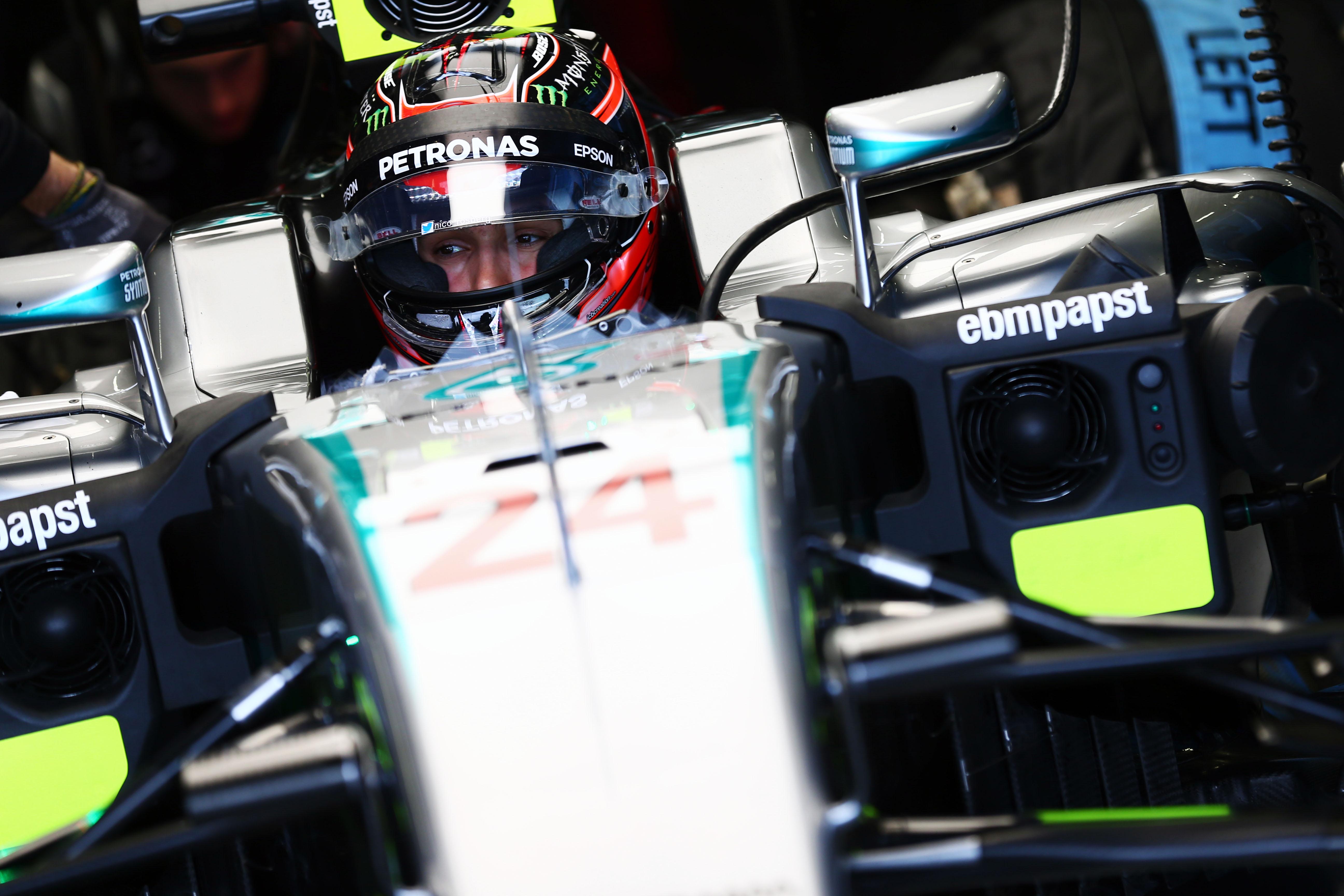 Motor Racing Formula One Testing In Season Test Day 1 Silverstone, England