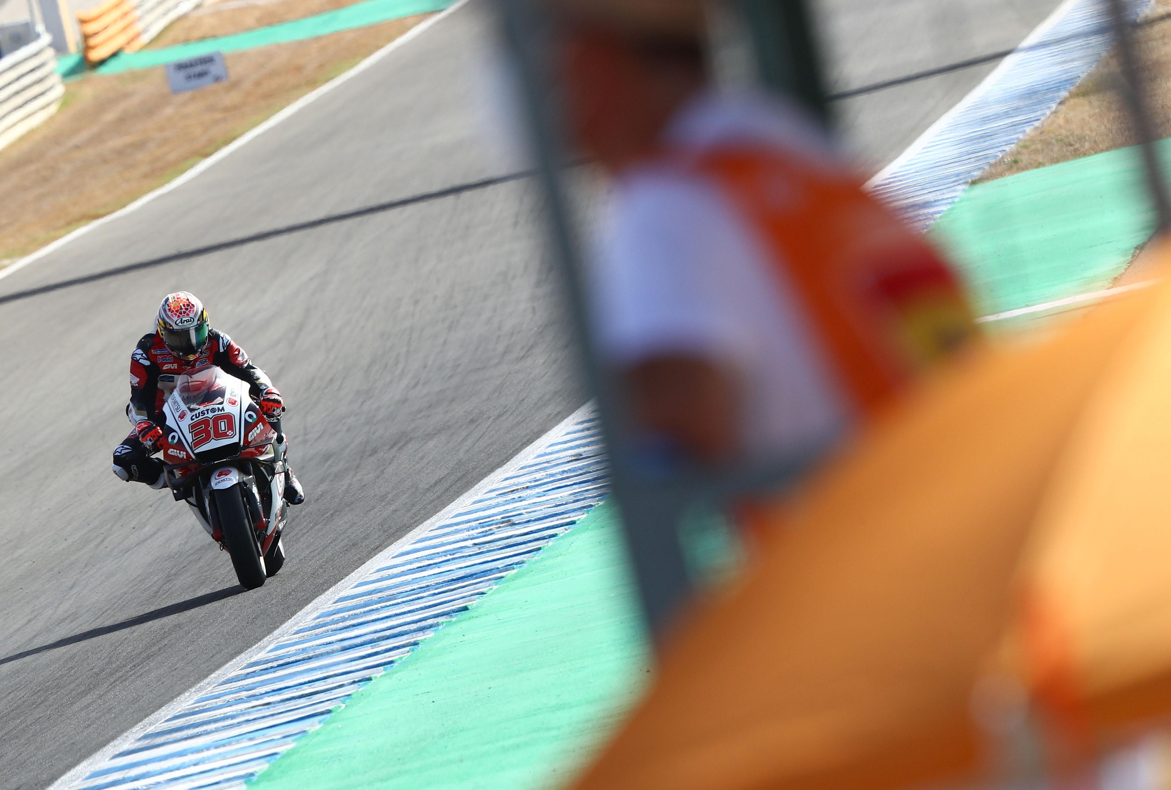 Takaaki Nakagami LCR Honda Jerez MotoGP 2020