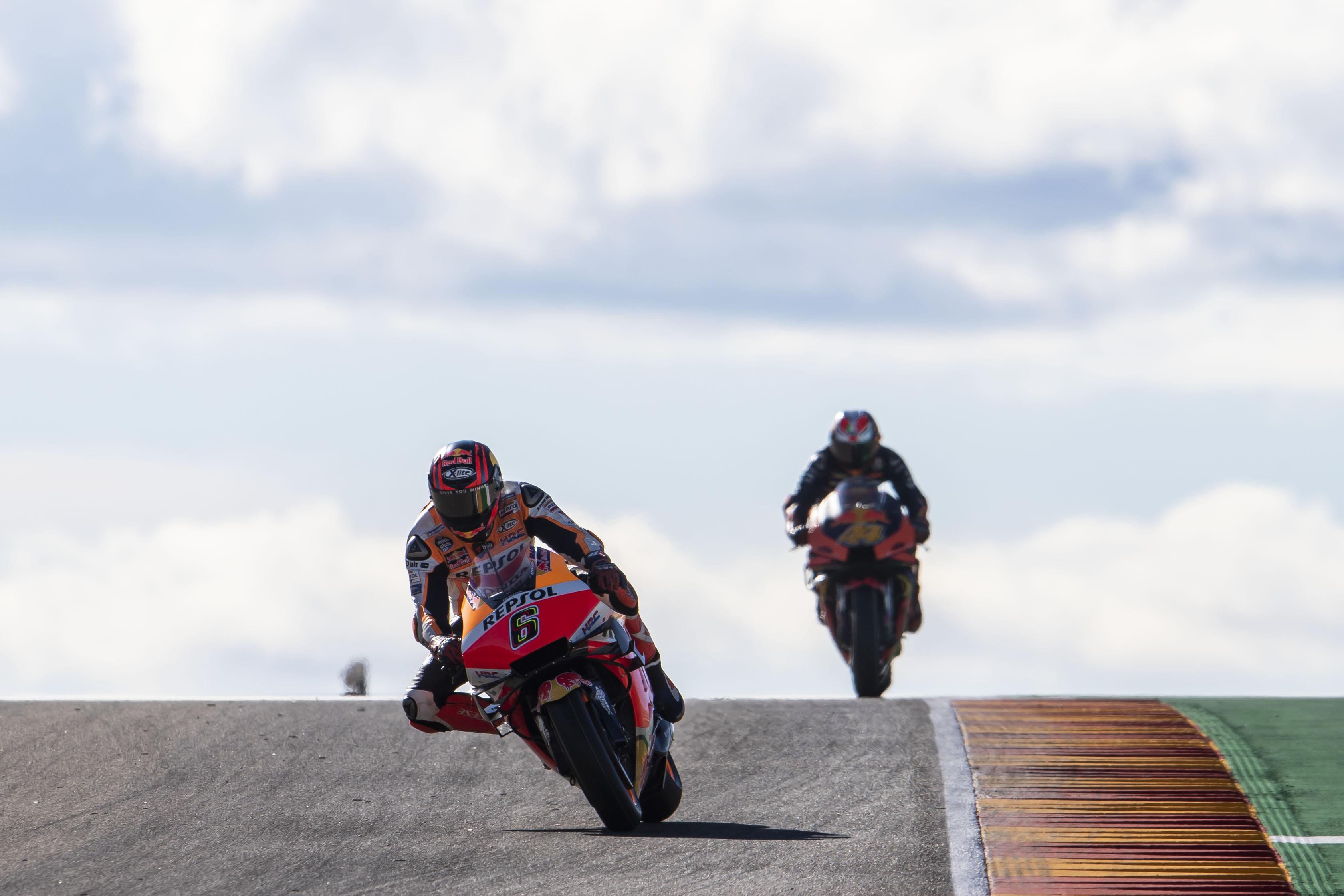Stefan Bradl Honda Aragon MotoGP 2020
