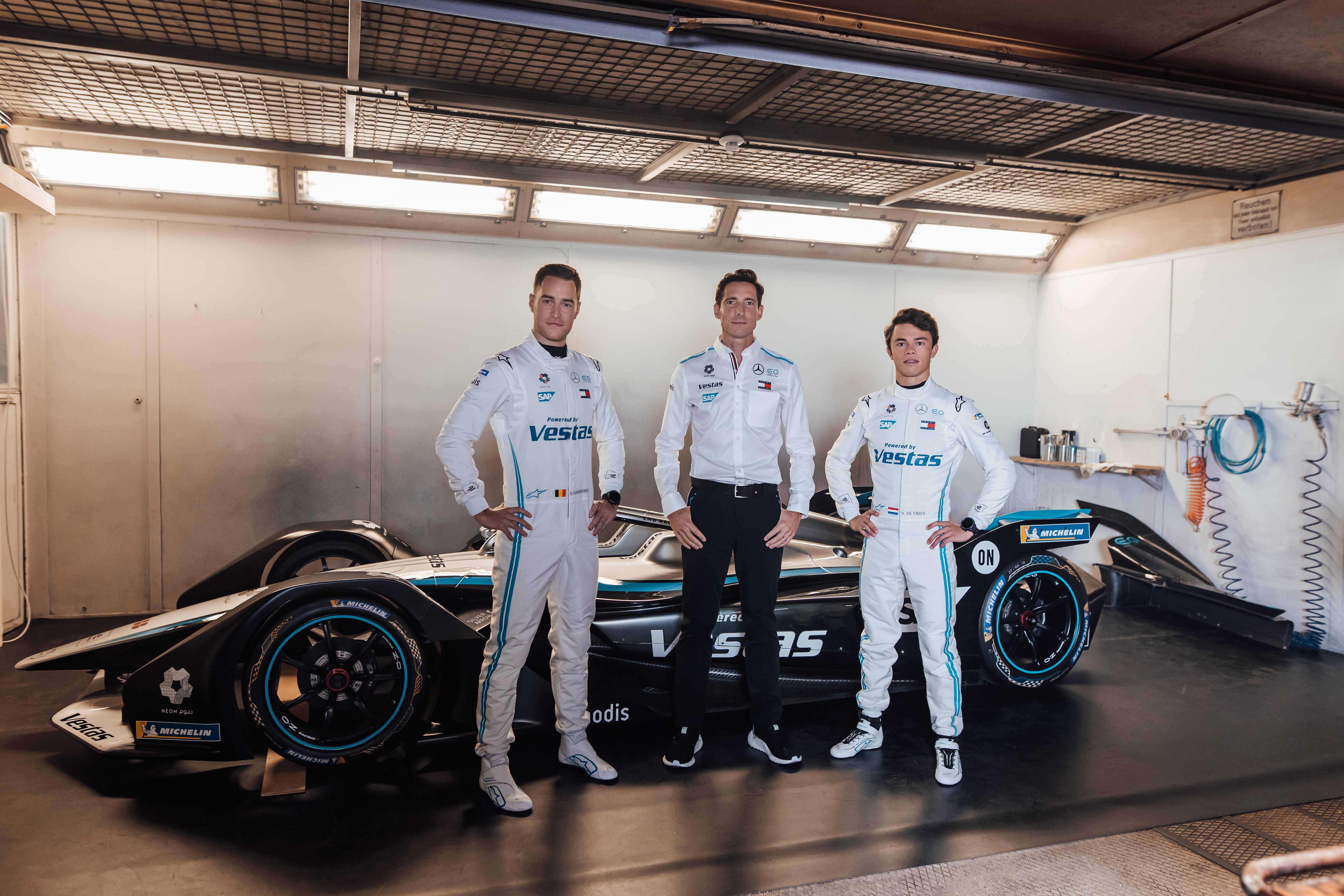 Mercedes Formula E team