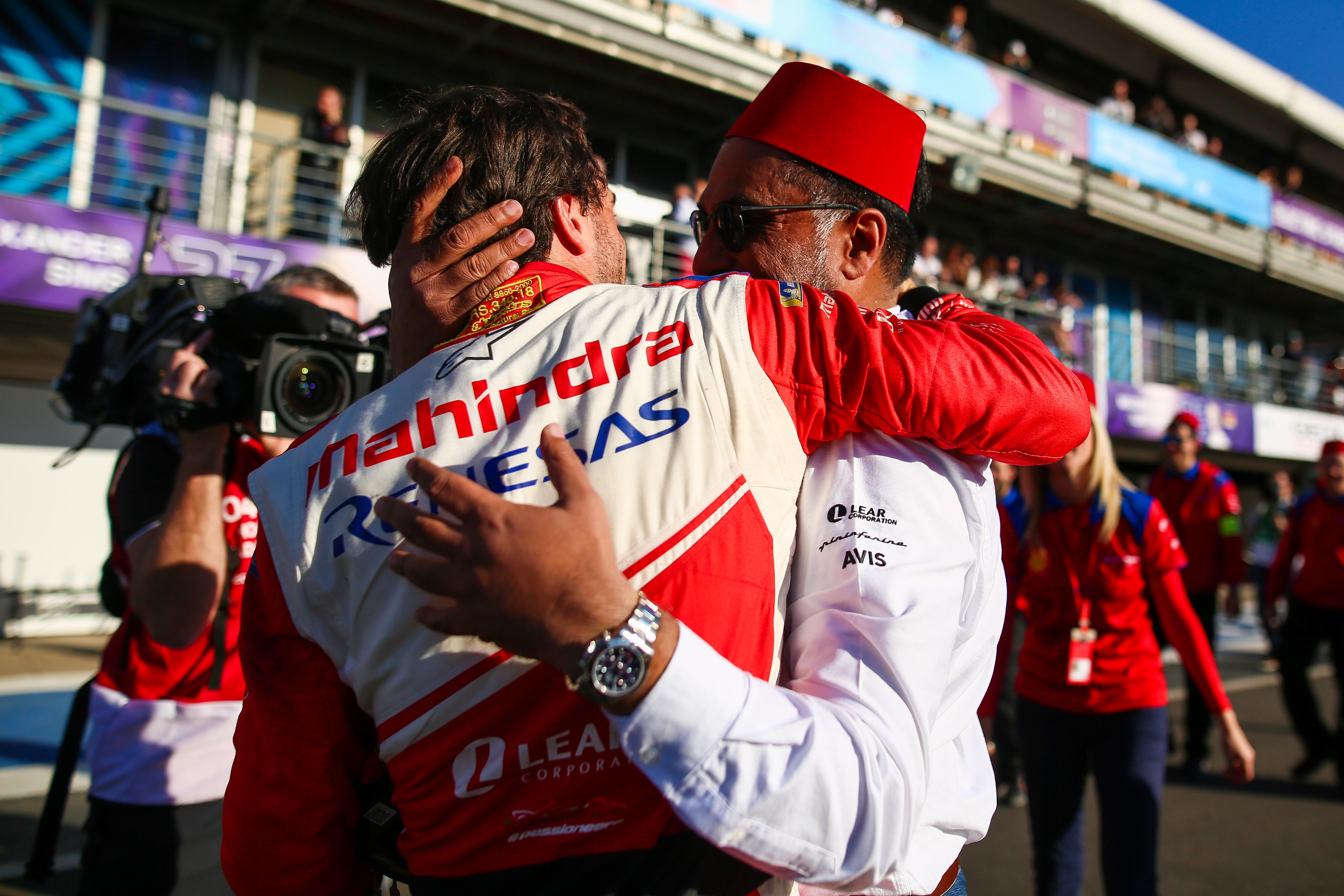 Jerome d'Ambrosio and Dilbagh Gill, Mahindra, Marrakesh Formula E