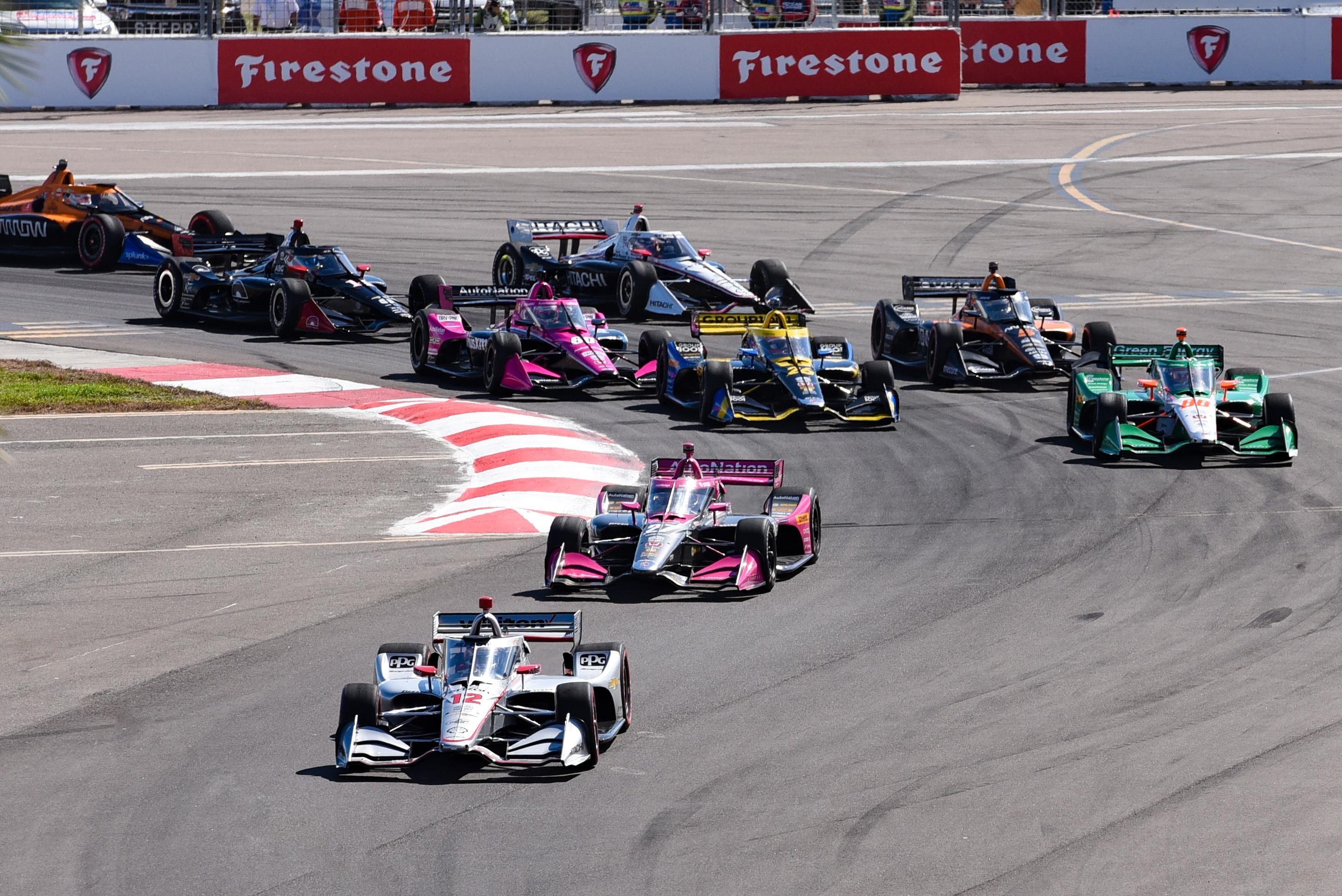 Indycar St Petersburg Start