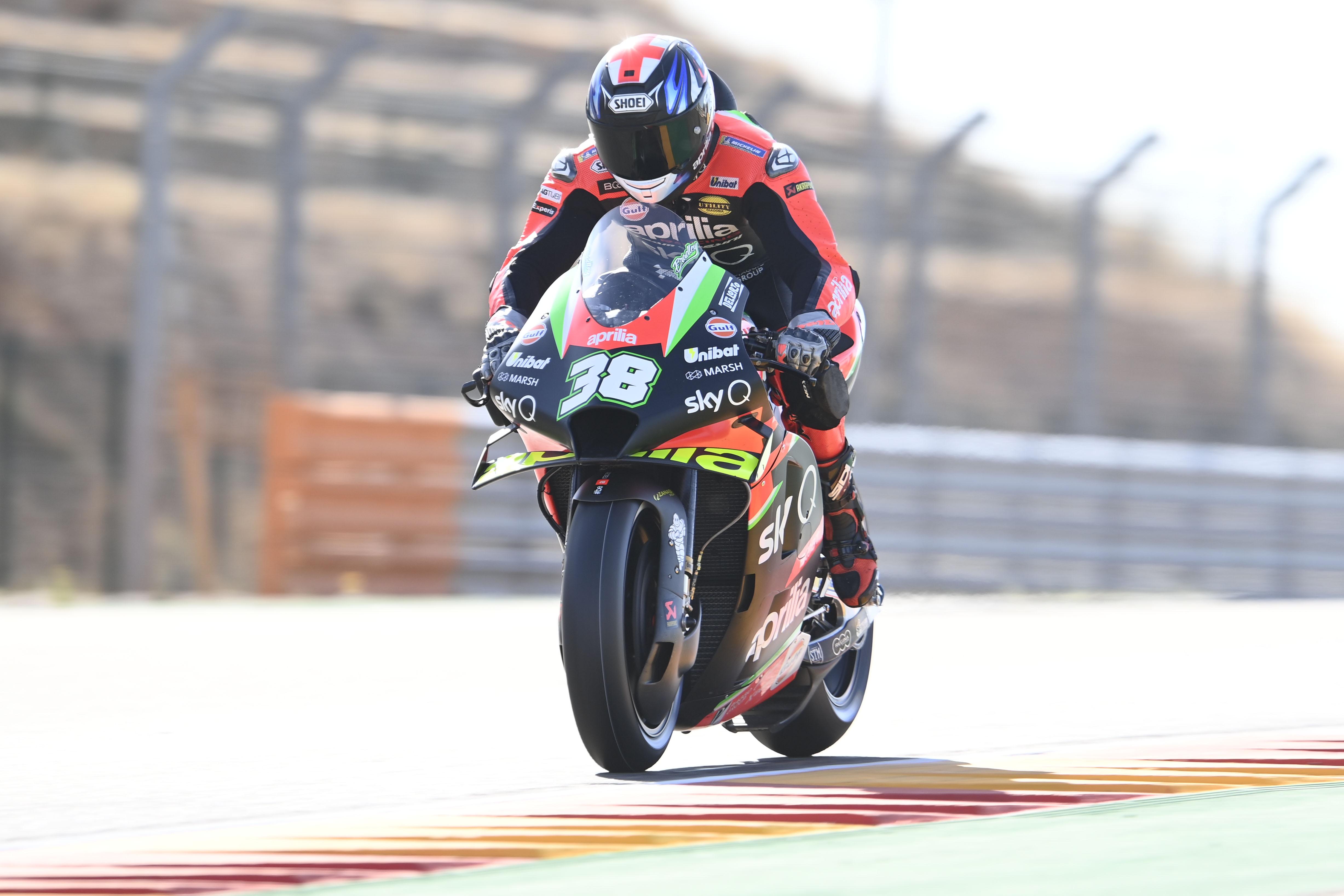 Bradley Smith Aprilia MotoGP 2020