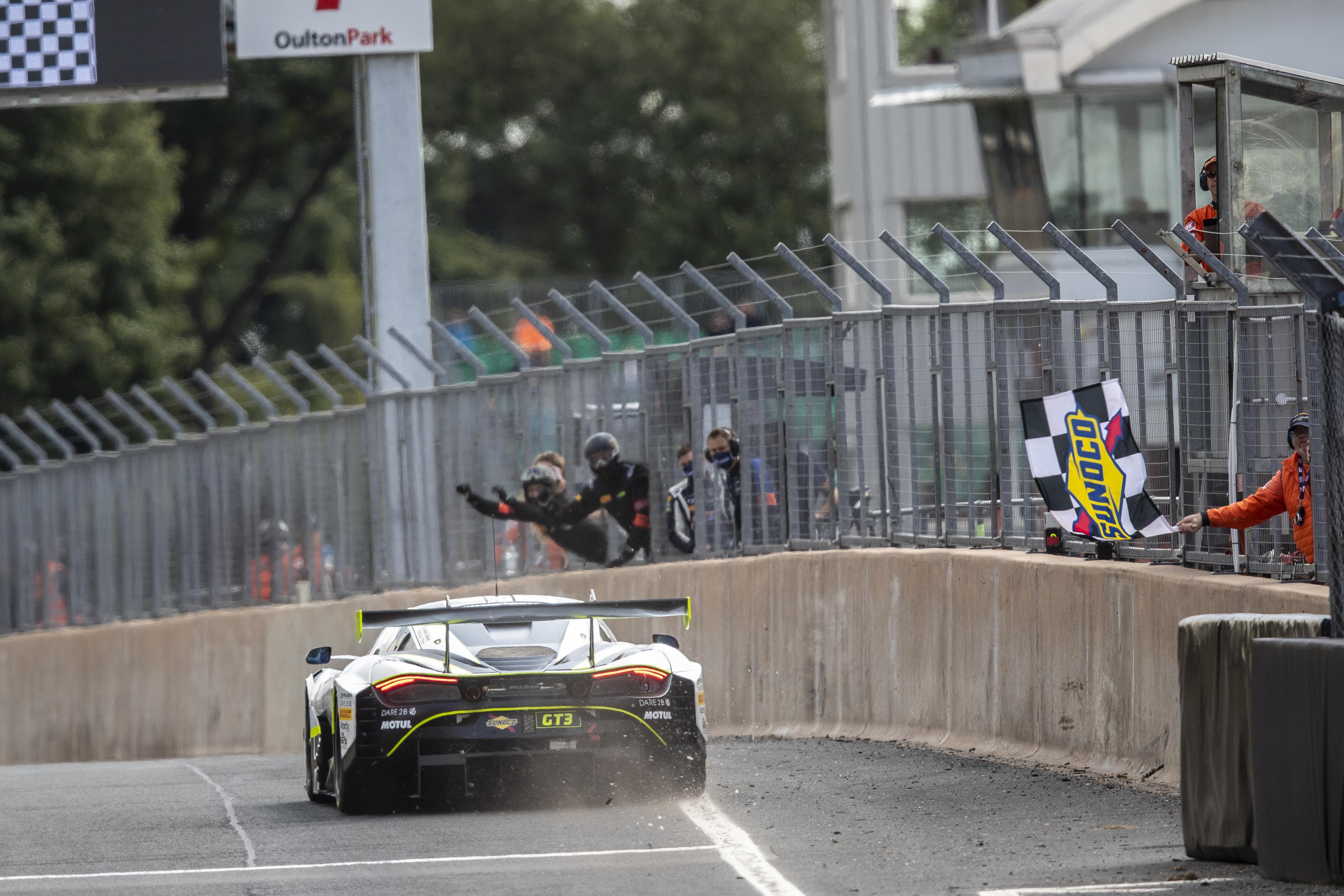 James Baldwin Oulton Park British GT win 2020