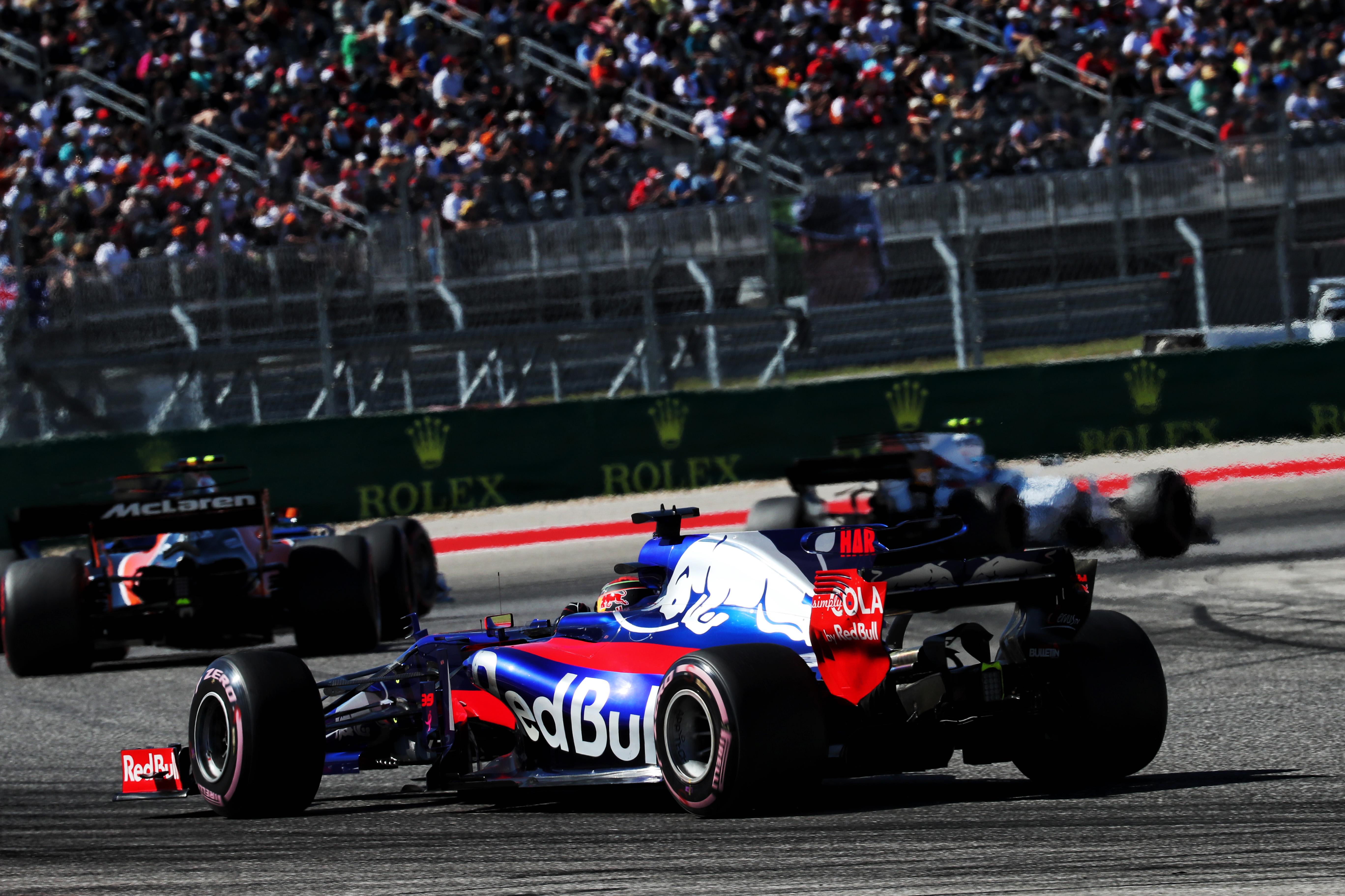 Автогонки Формула-1 Чемпионат мира Гран-при США День гонки Остин, США