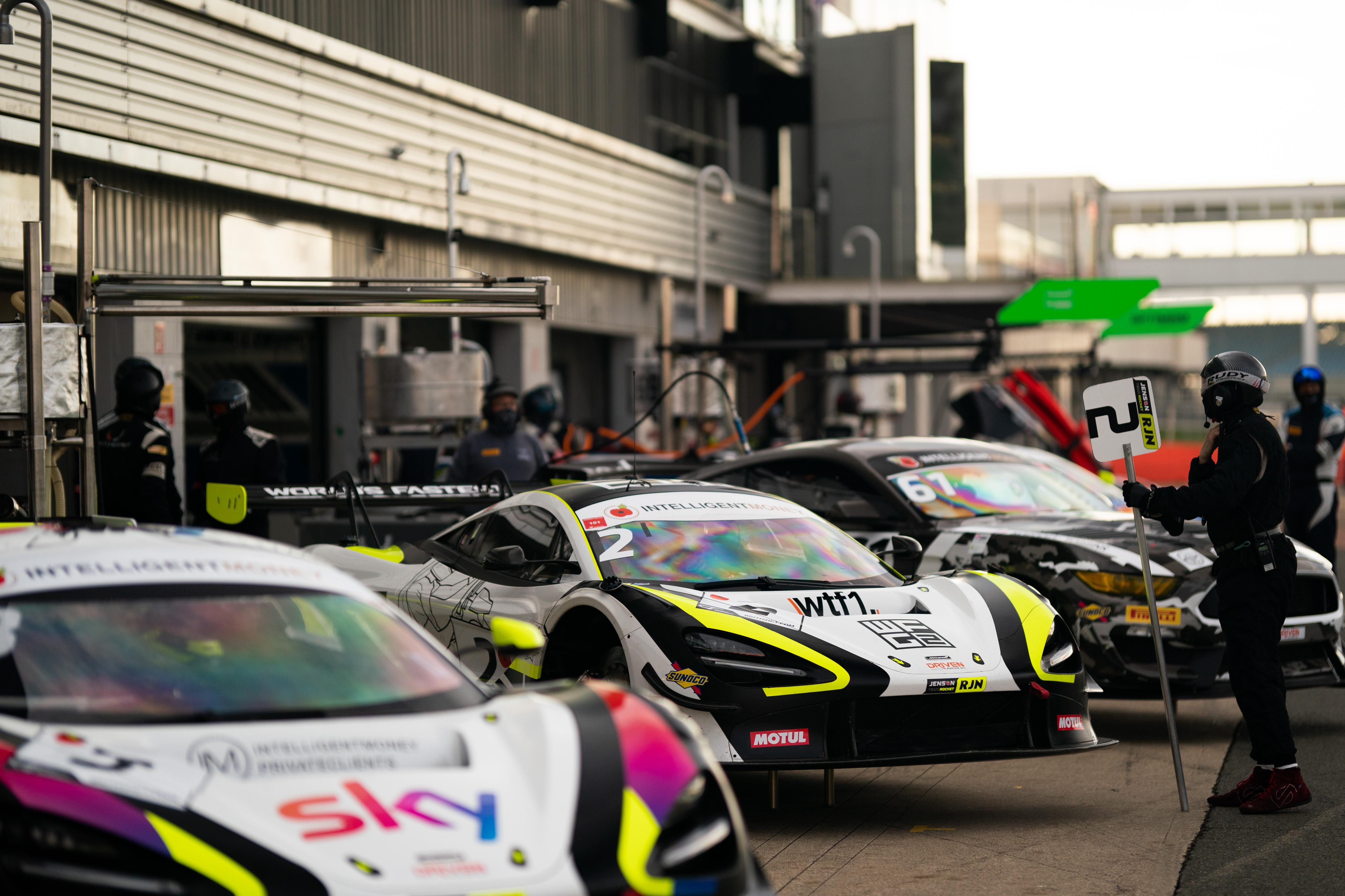 Jenson Team Rocket RJN McLarens Silverstone British GT 2020