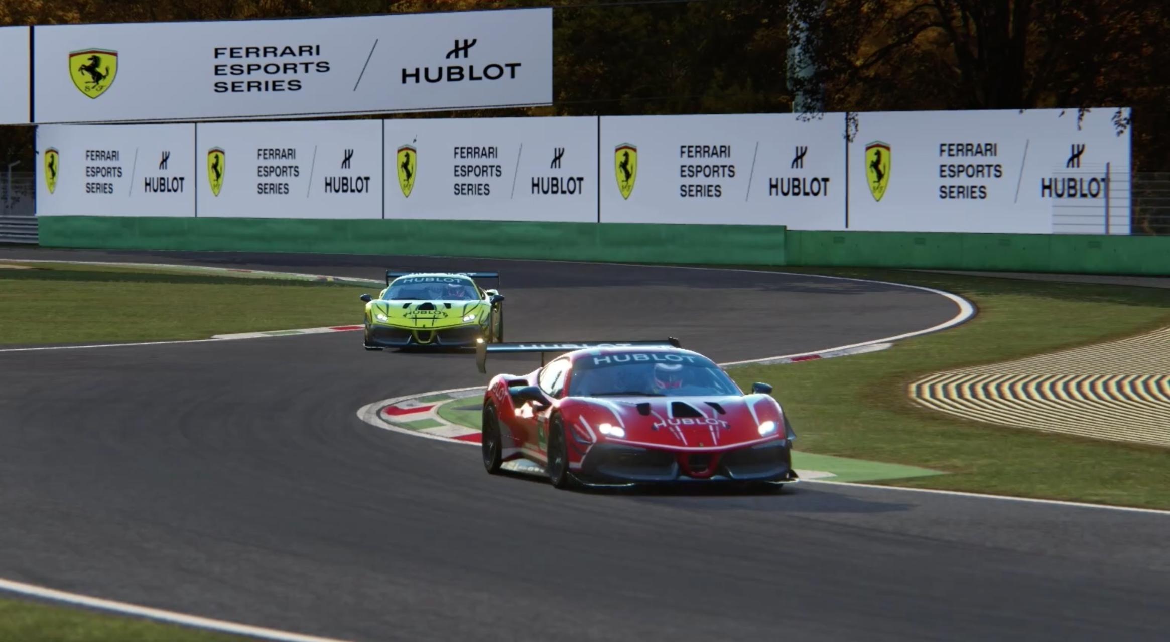 Ferrari Esports De Salvo And Lacombe