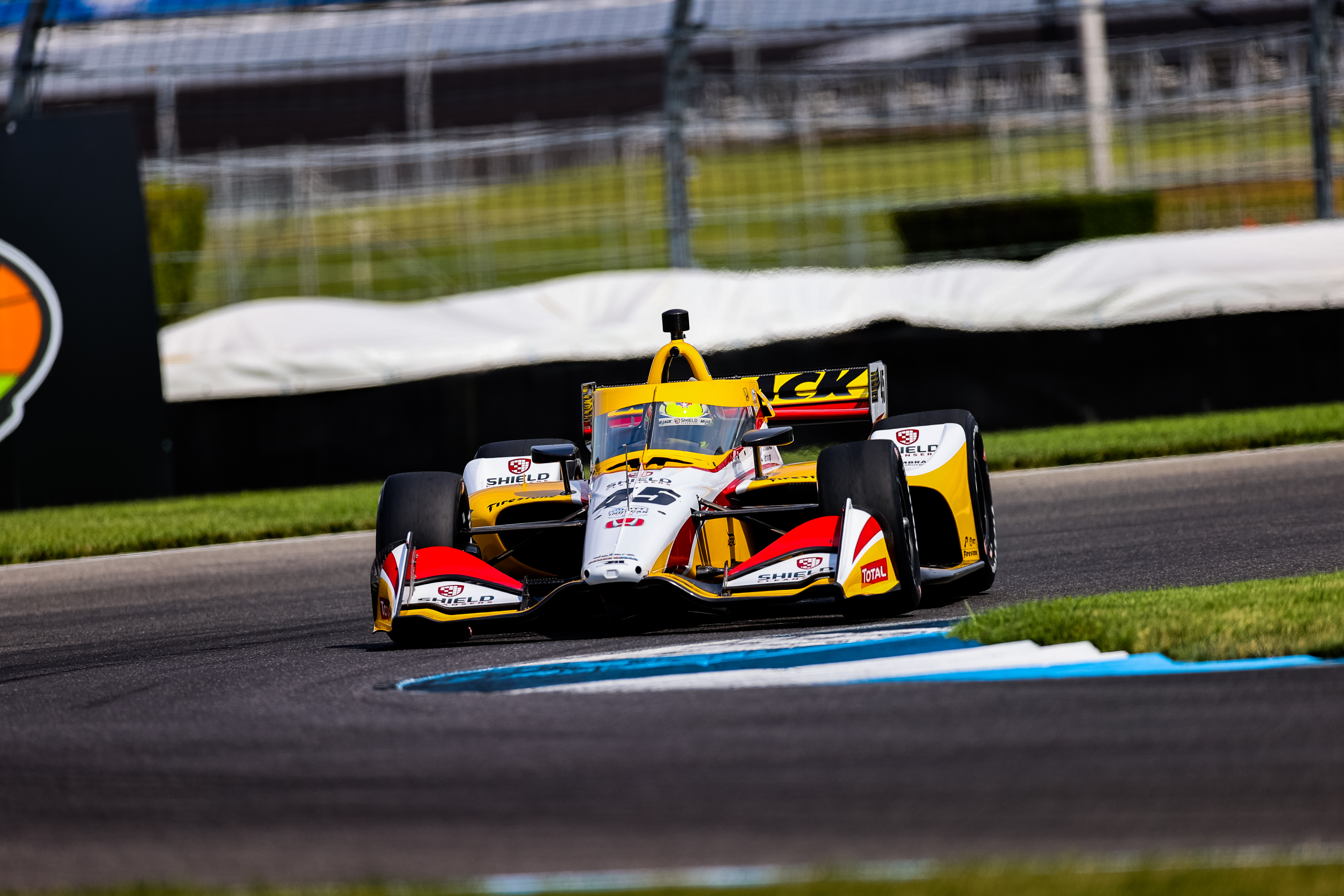 Spencer Pigot, Rahal Letterman Lanigan Racing with Citrone/Buhl Autosport