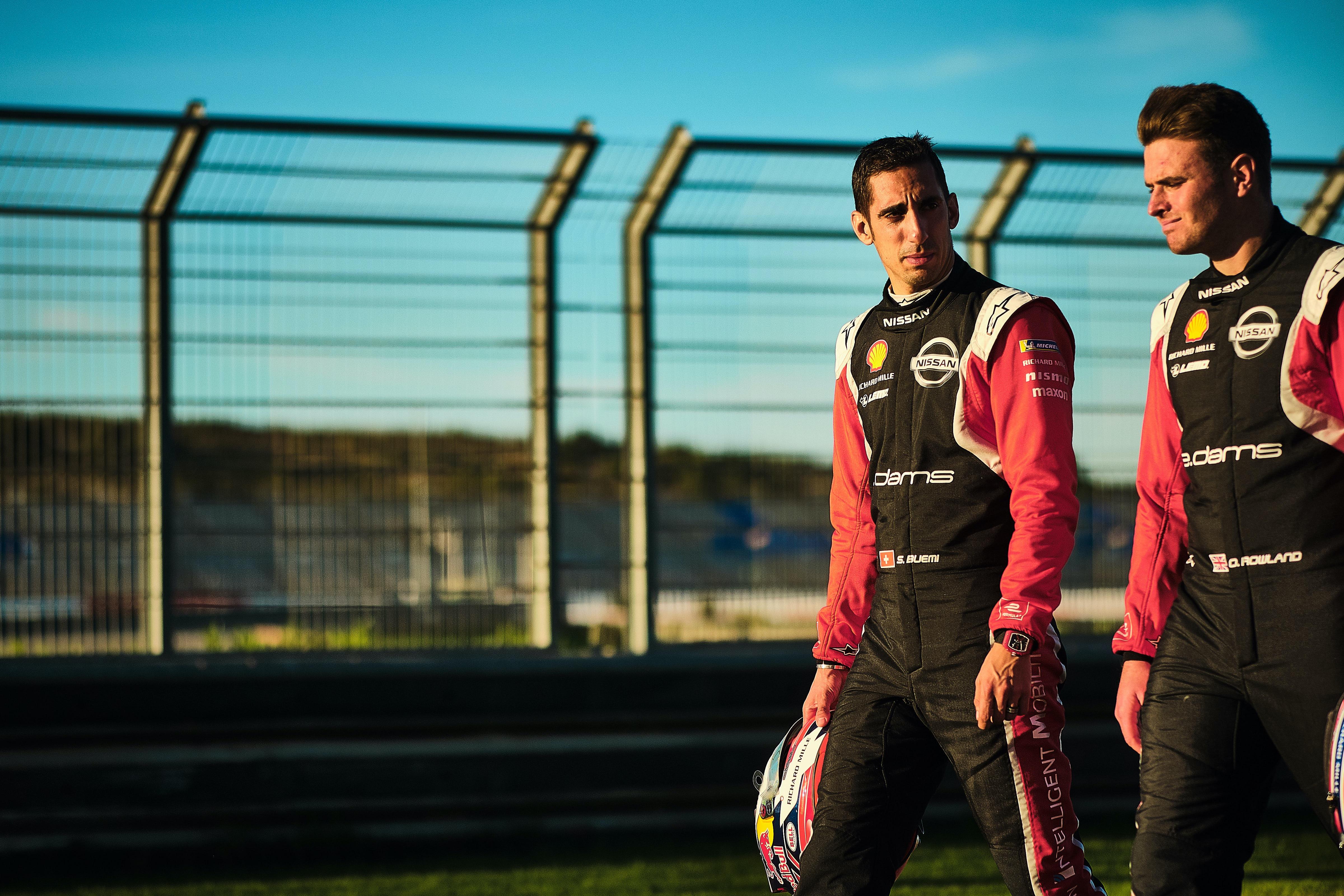 Oliver Rowland, Sebastien Buemi, Nissan edams, Formula E