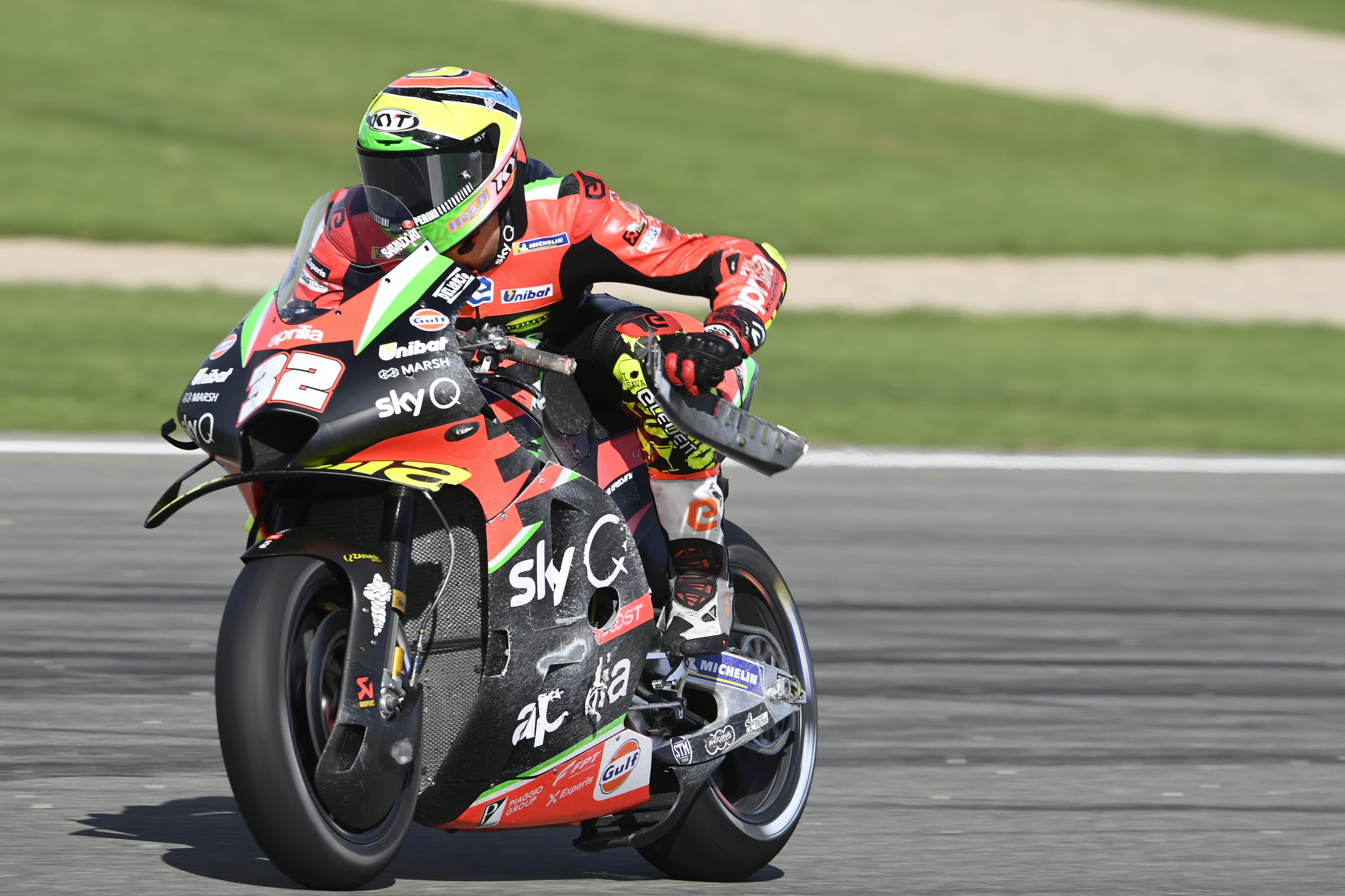 Lorenzo Savadori Aprilia Valencia MotoGP 2020