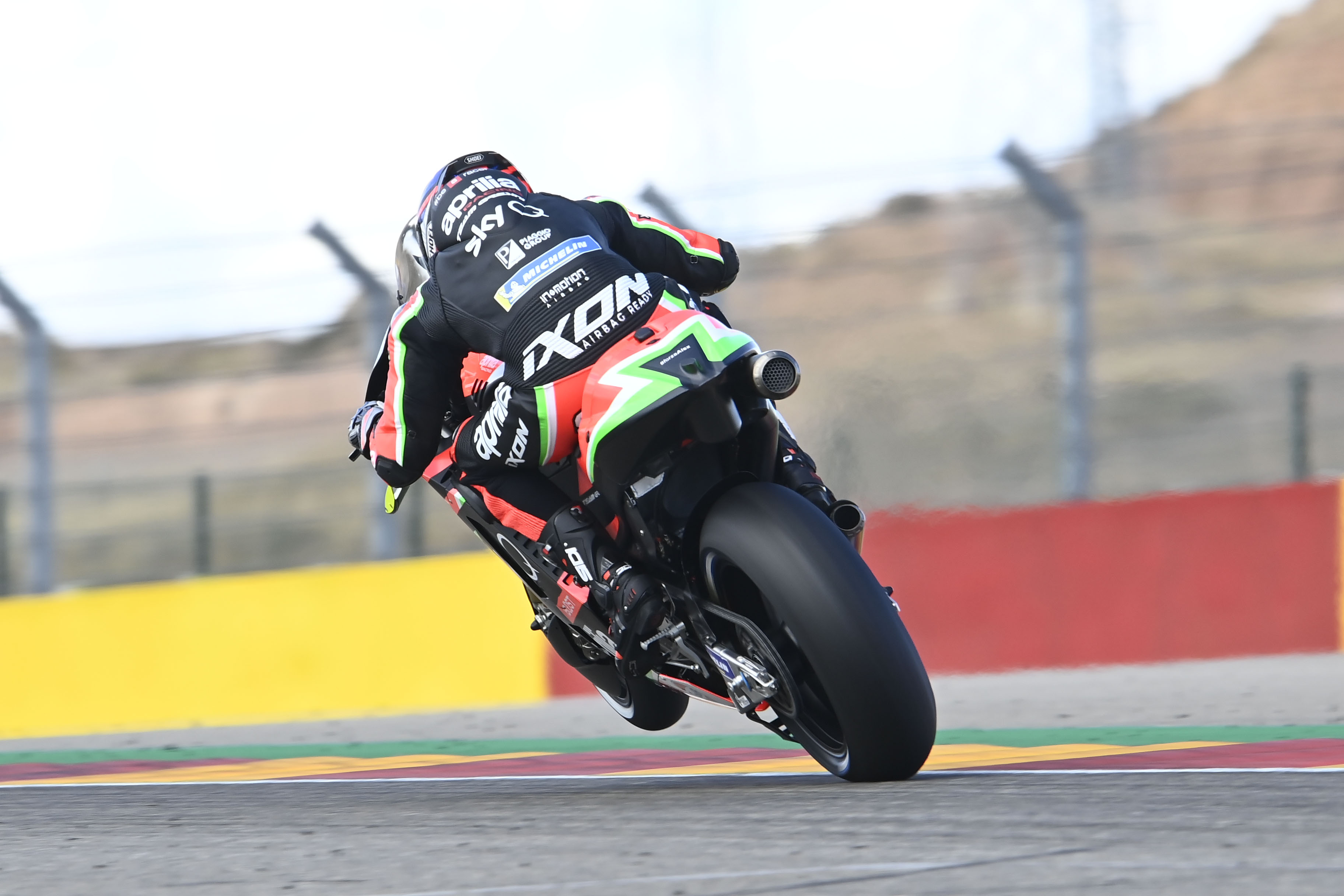 Bradley Smith Aprilia Aragon MotoGP 2020
