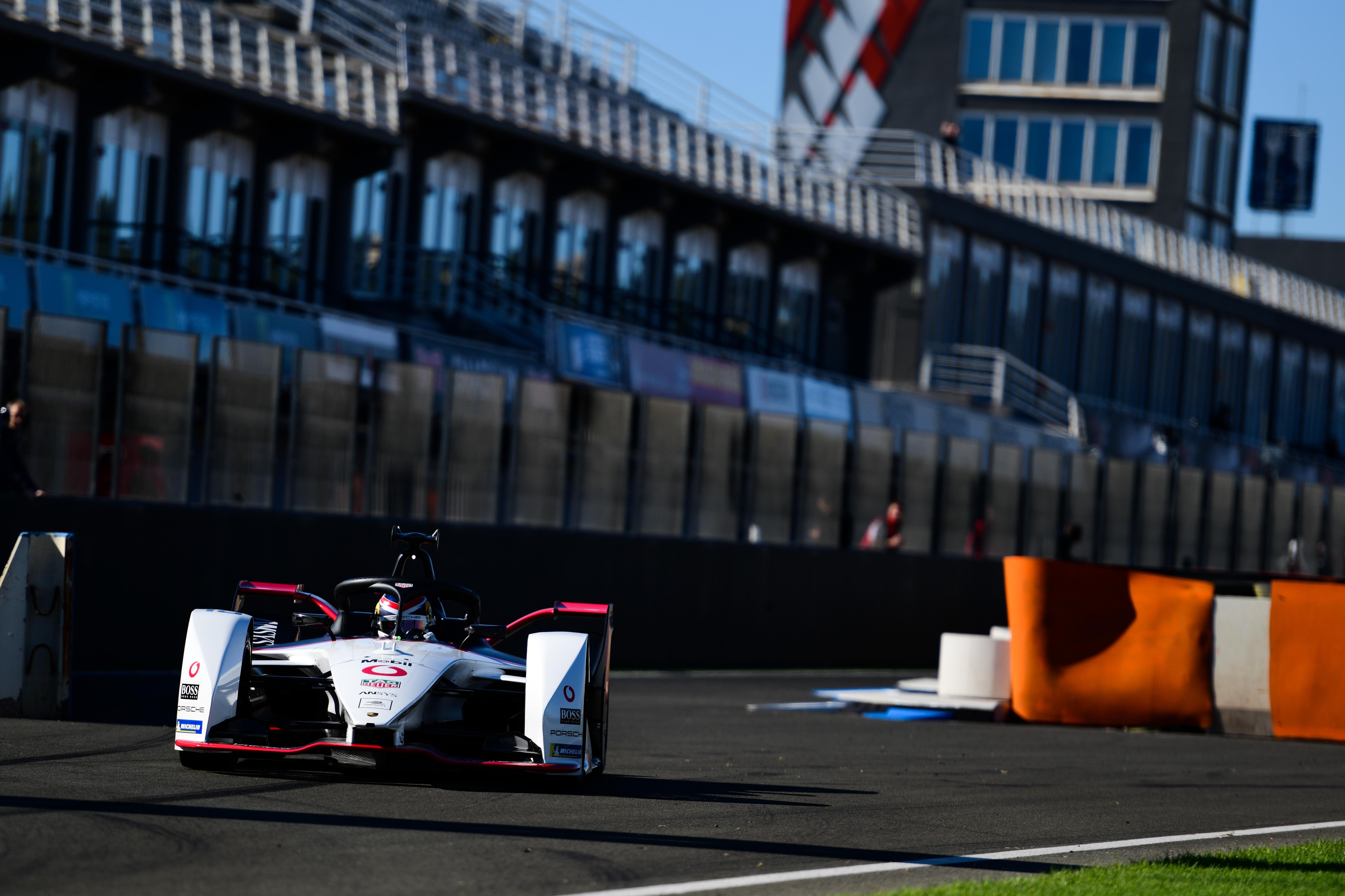 Neel Jani Porsche Valencia Formula E testing 2019