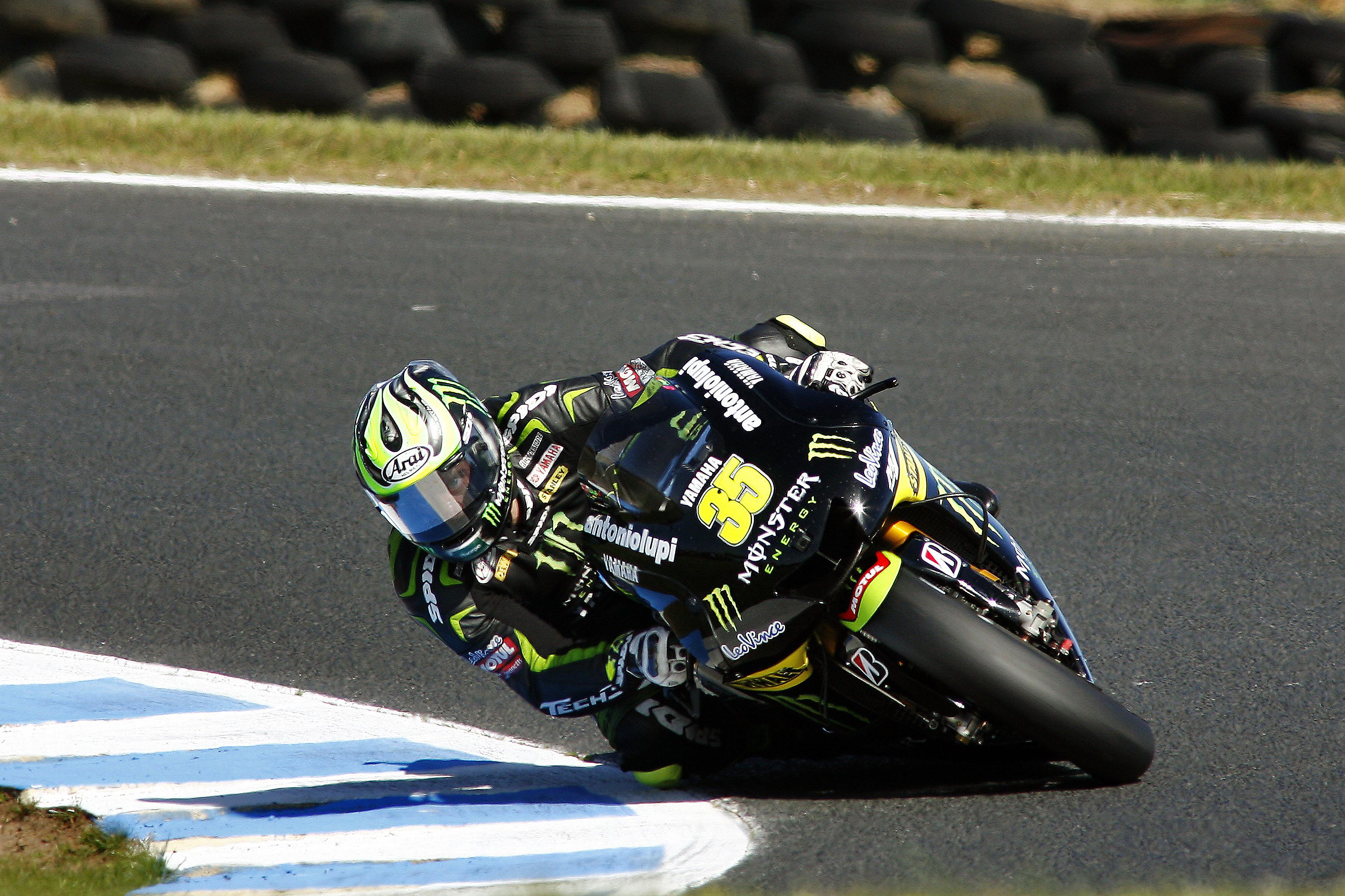 Cal Crutchlow Tech3 Yamaha Phillip Island MotoGP 2012