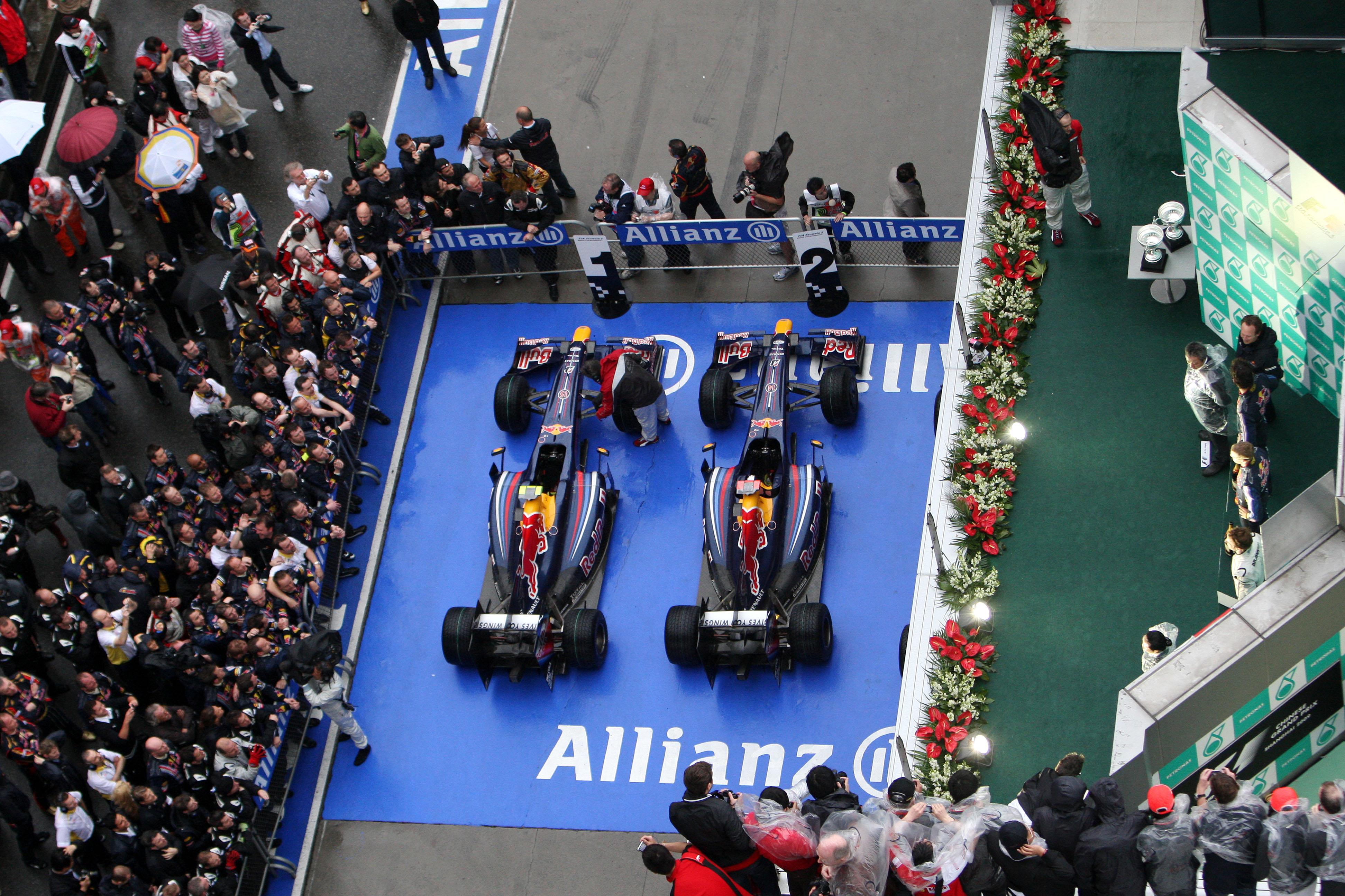 Formula 1 Grand Prix, China, Sunday Podium
