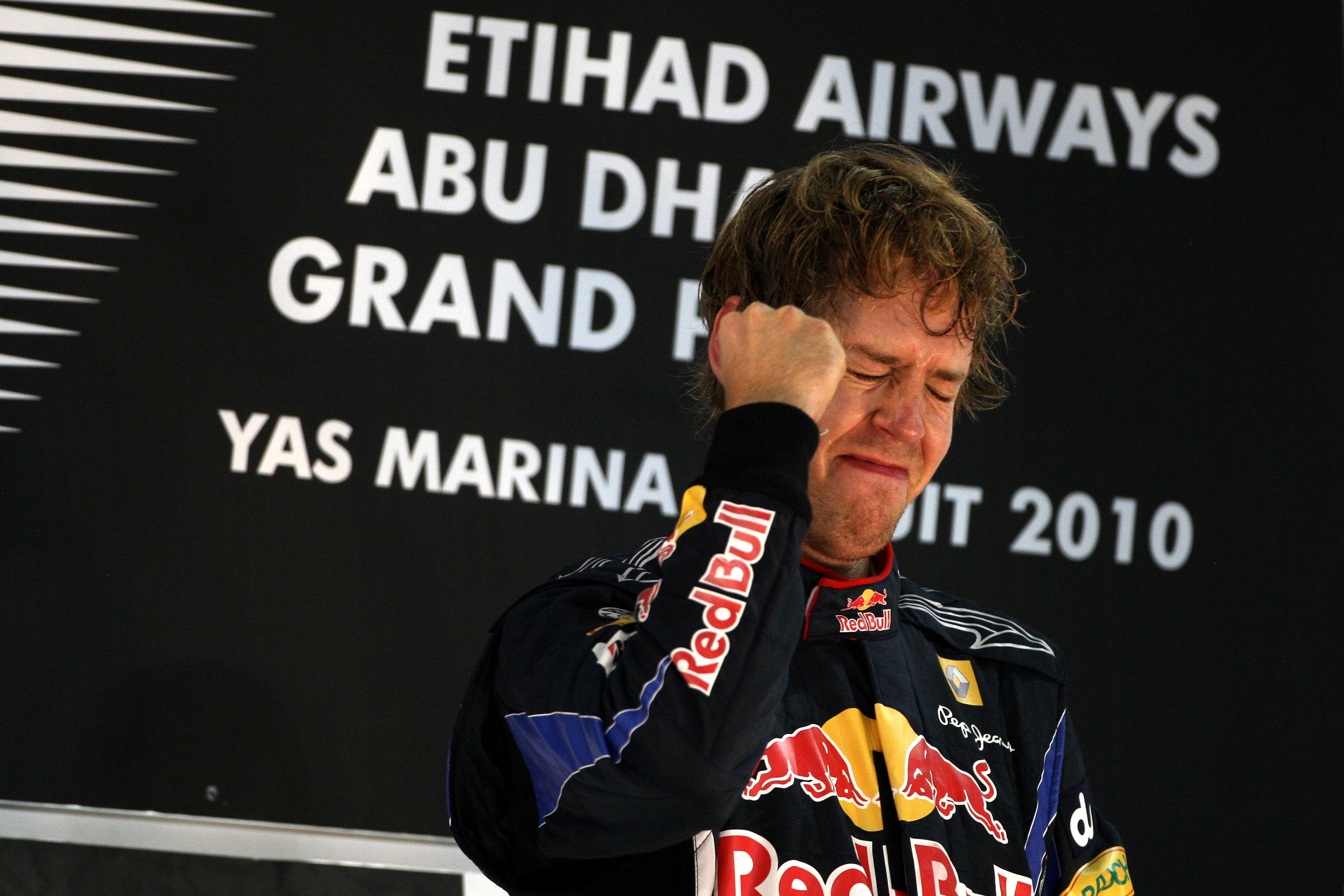 Formula 1 Grand Prix, Abu Dhabi, Sunday Podium