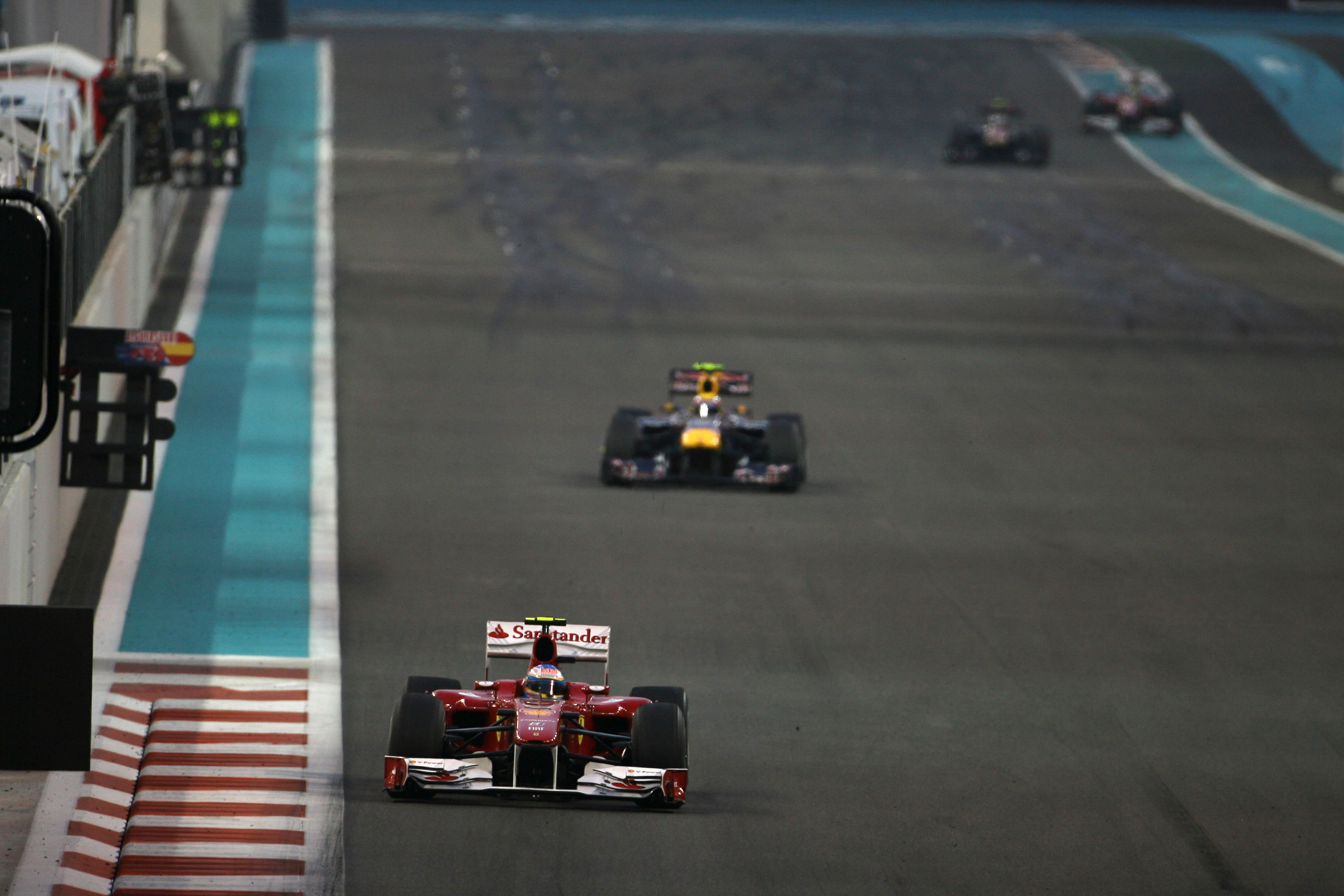 Formula 1 Grand Prix, Abu Dhabi, Sunday Race