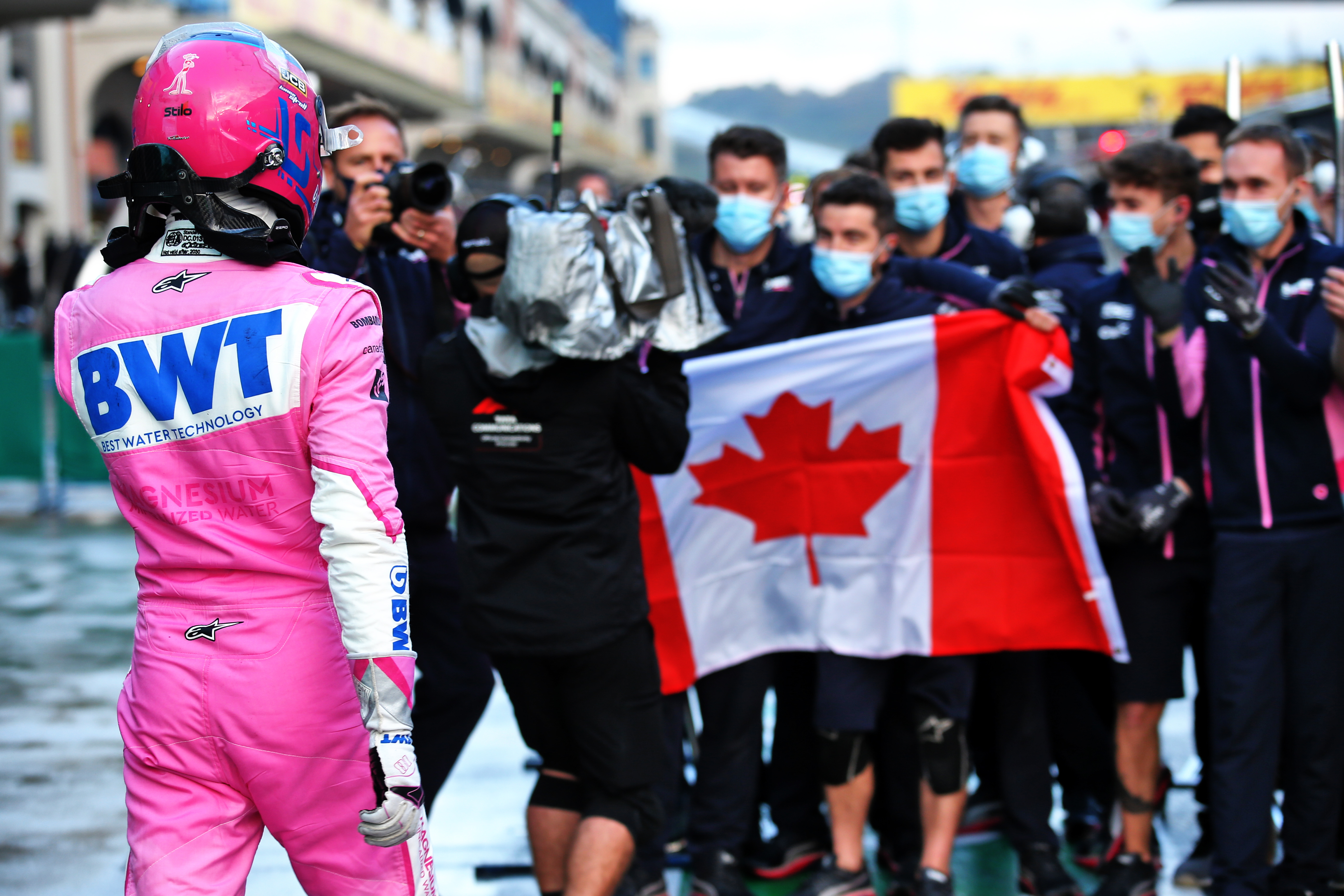 Lance Stroll takes Turkish Grand Prix pole 2020