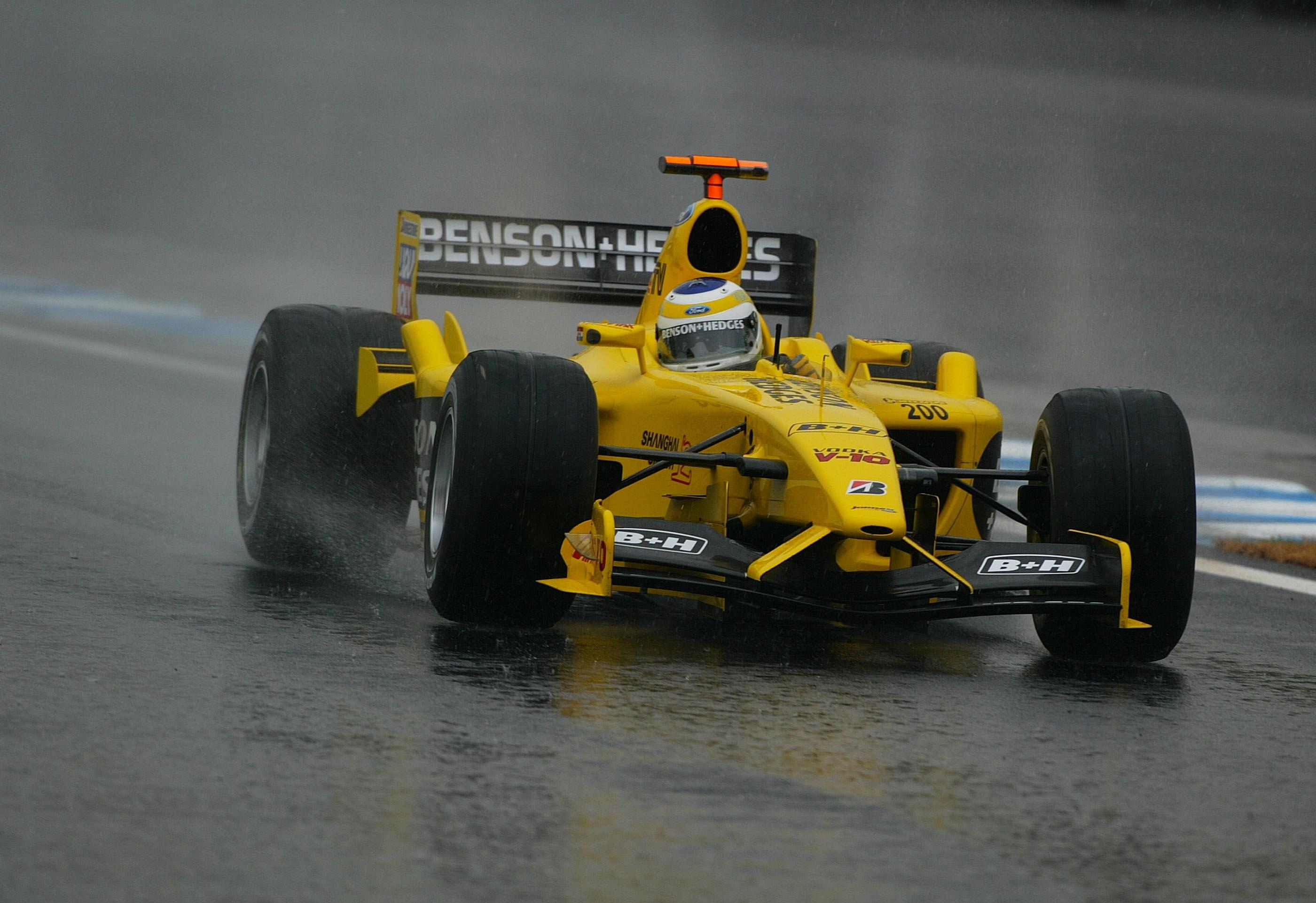 Giancarlo Fisichella Jordan Brazilian Grand Prix 2003 Interlagos
