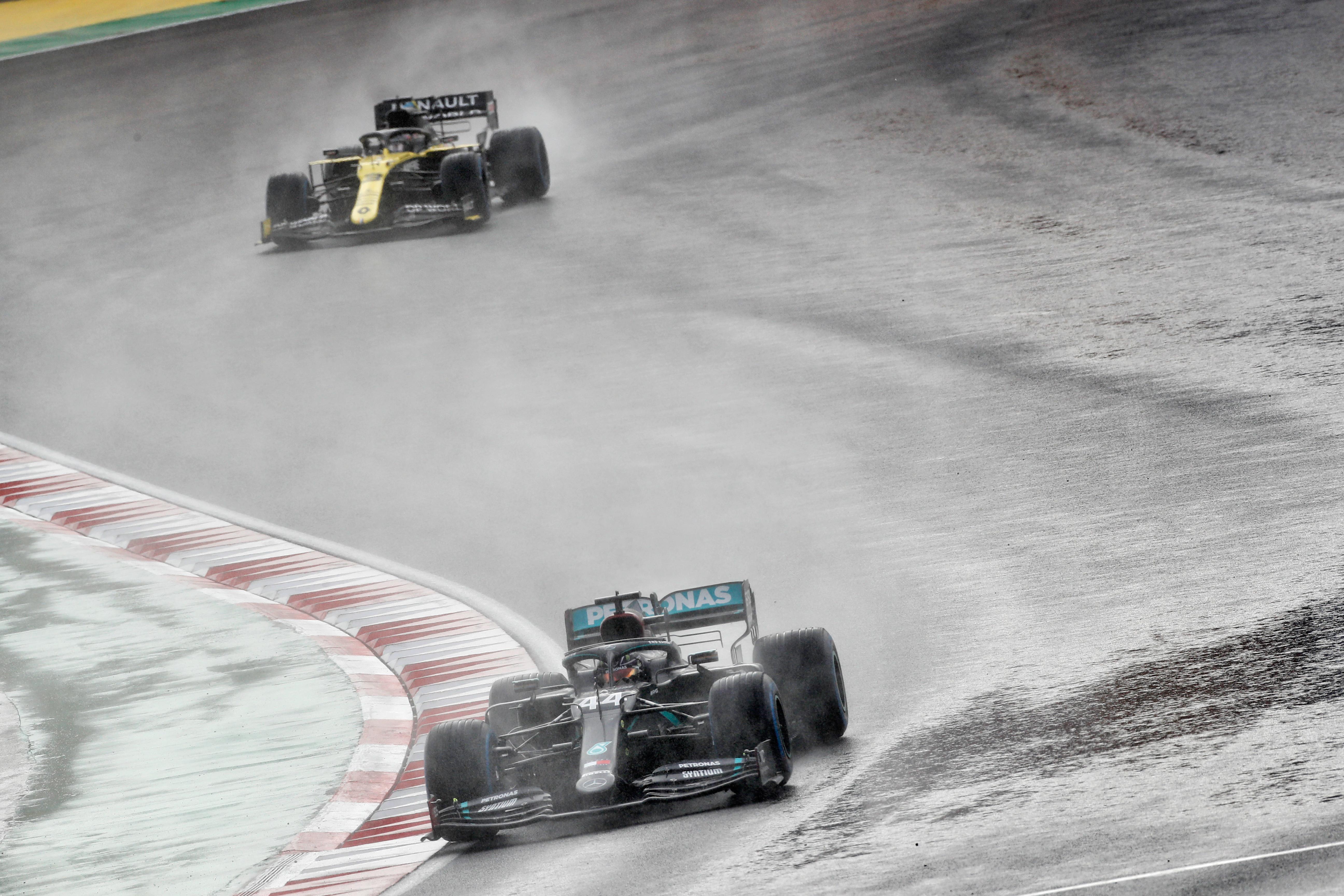 Lewis Hamilton Mercedes Turkish Grand Prix Istanbul 2020