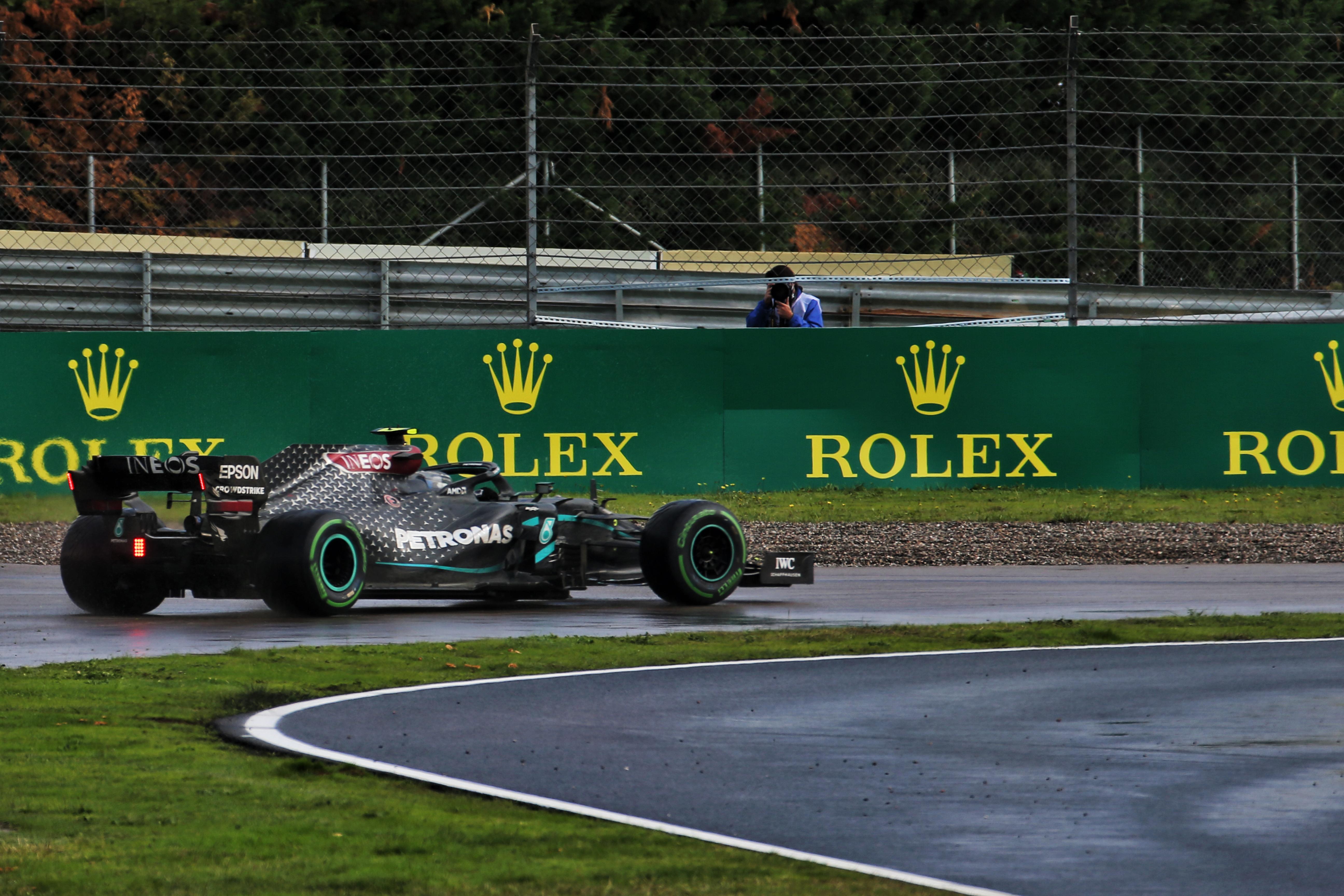 Valtteri Bottas spin Turkish Grand Prix 2020 Istanbul