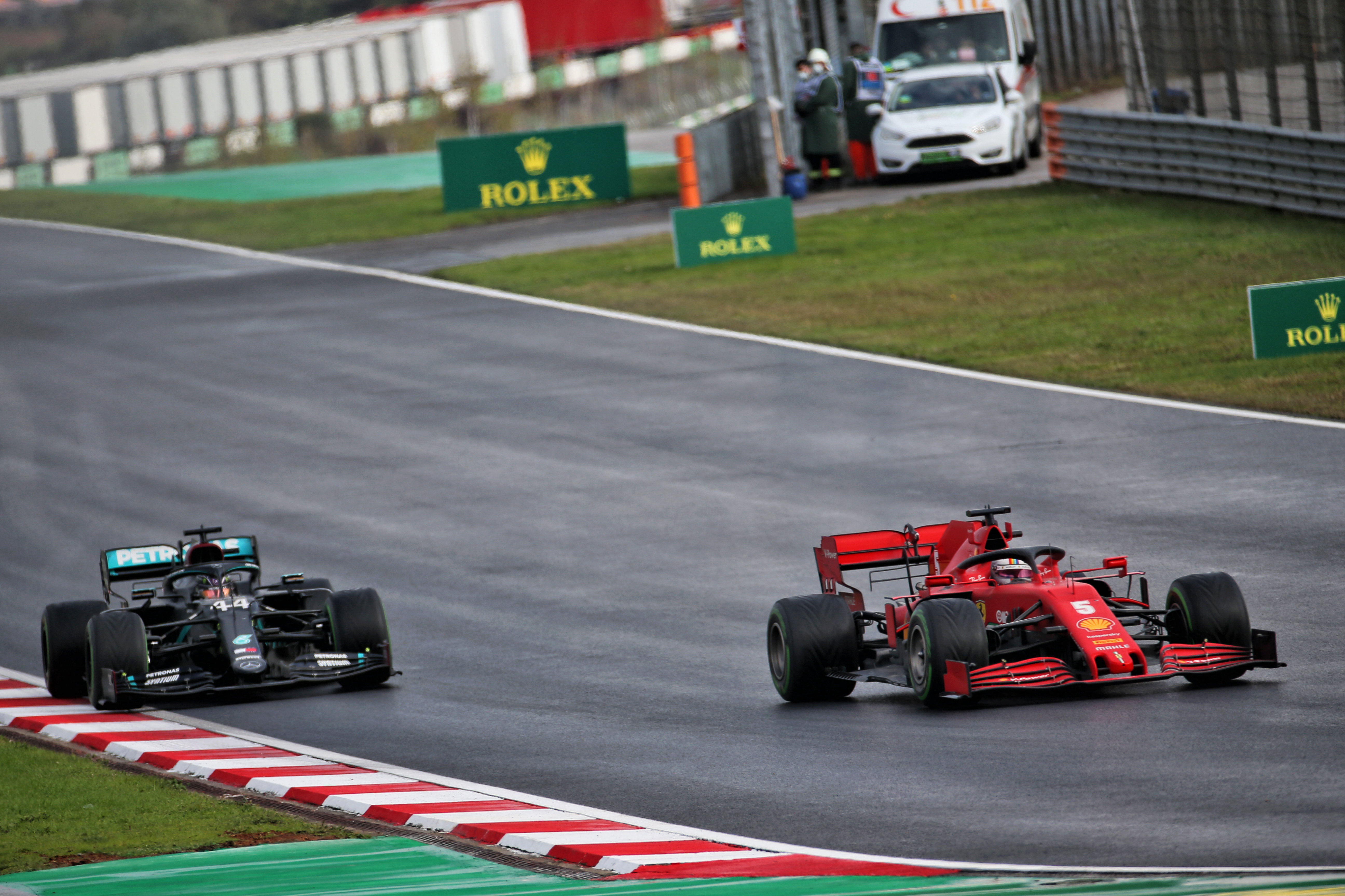 Sebastian Vettel Ferrari Turkish Grand Prix 2020 Istanbul