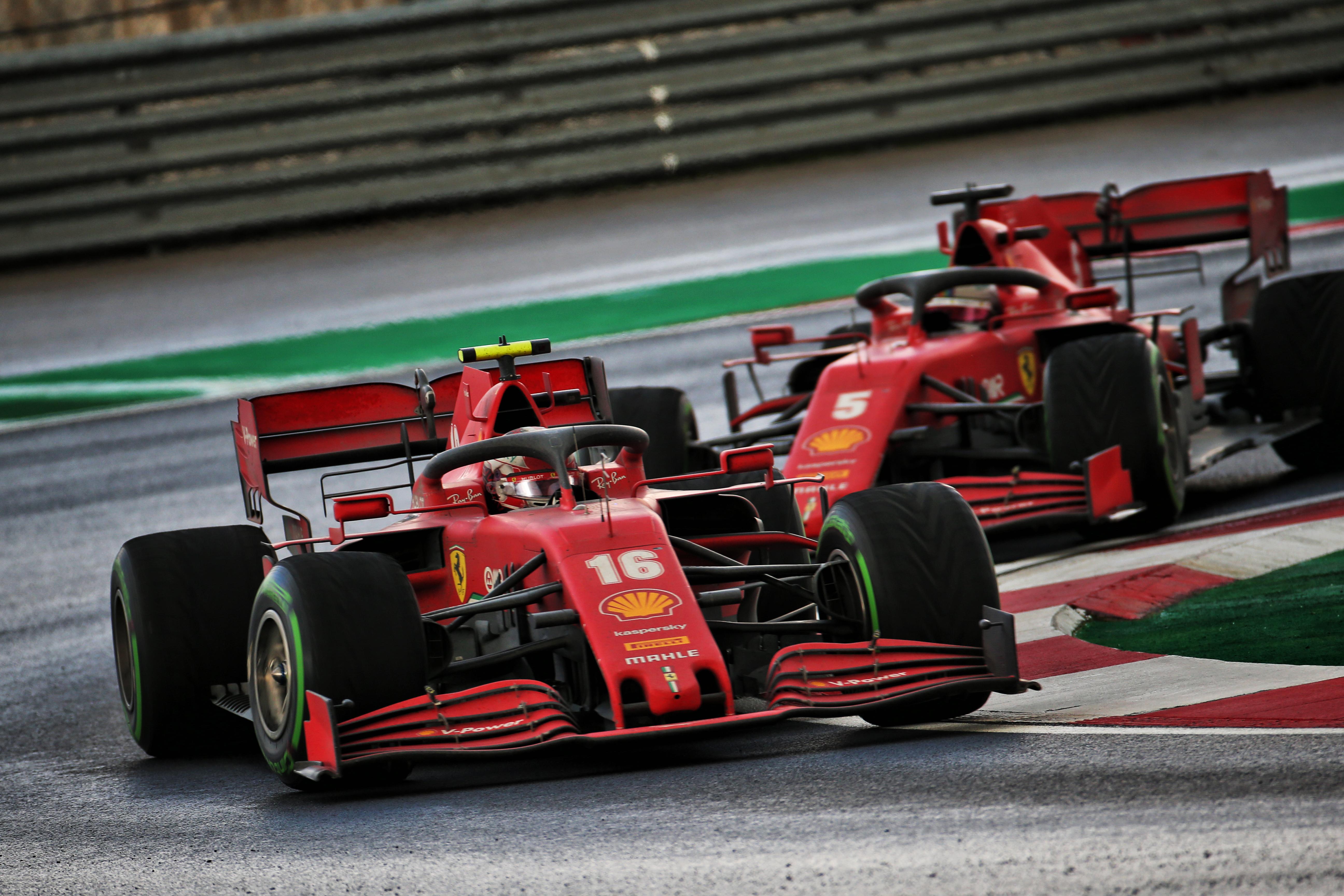 Charles Leclerc Ferrari F1 2020