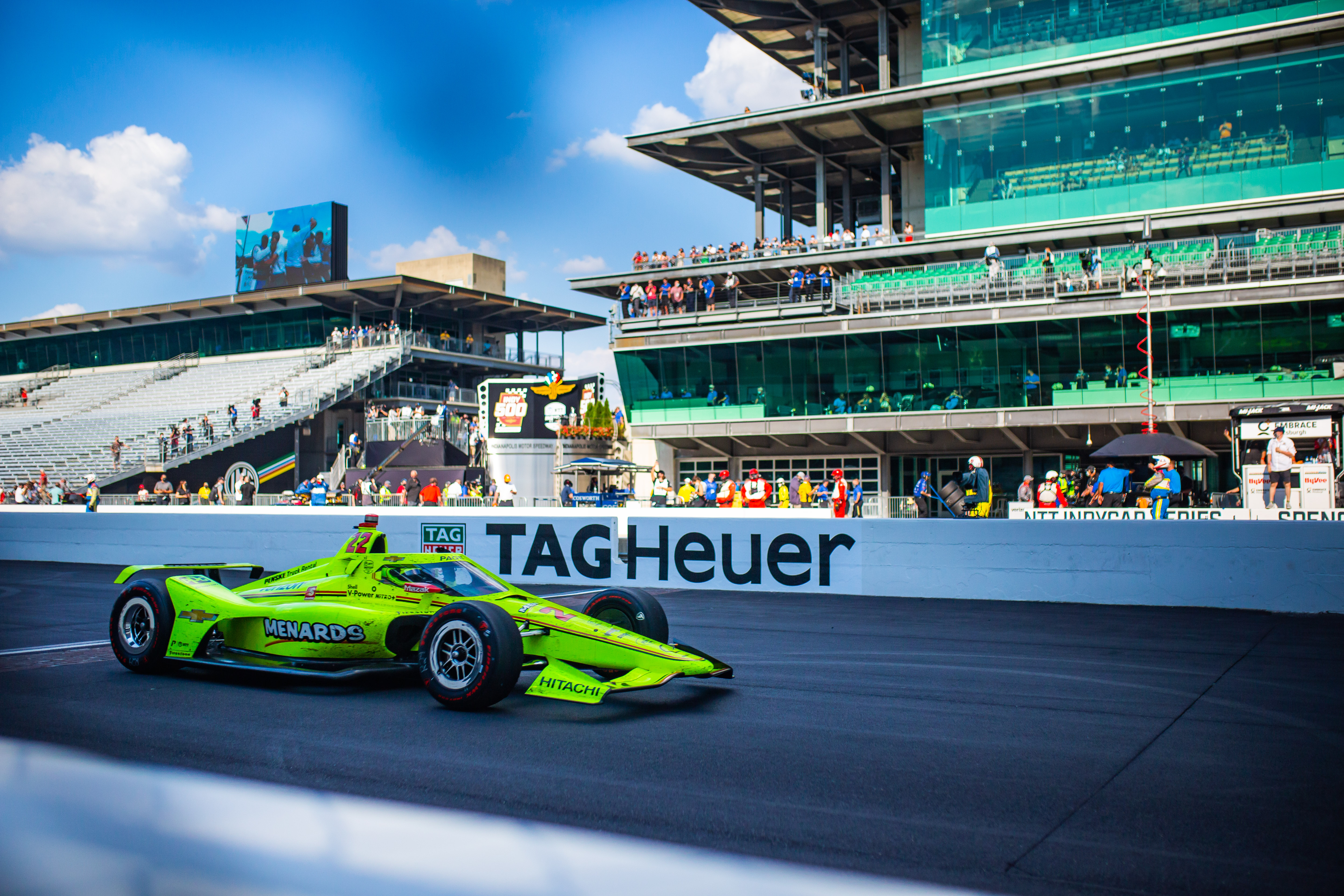 Ntt Indycar Series 104th Running Of The Indianapolis 500