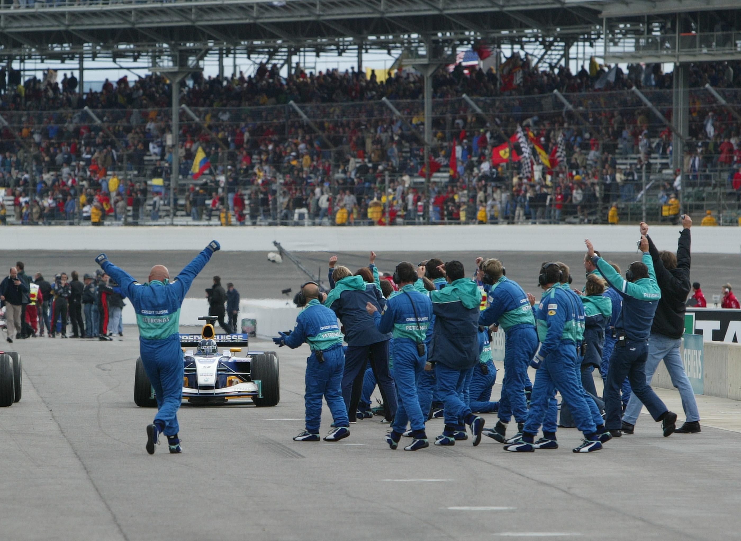 Heinz-Harald Frentzen, Sauber, F1, US GP
