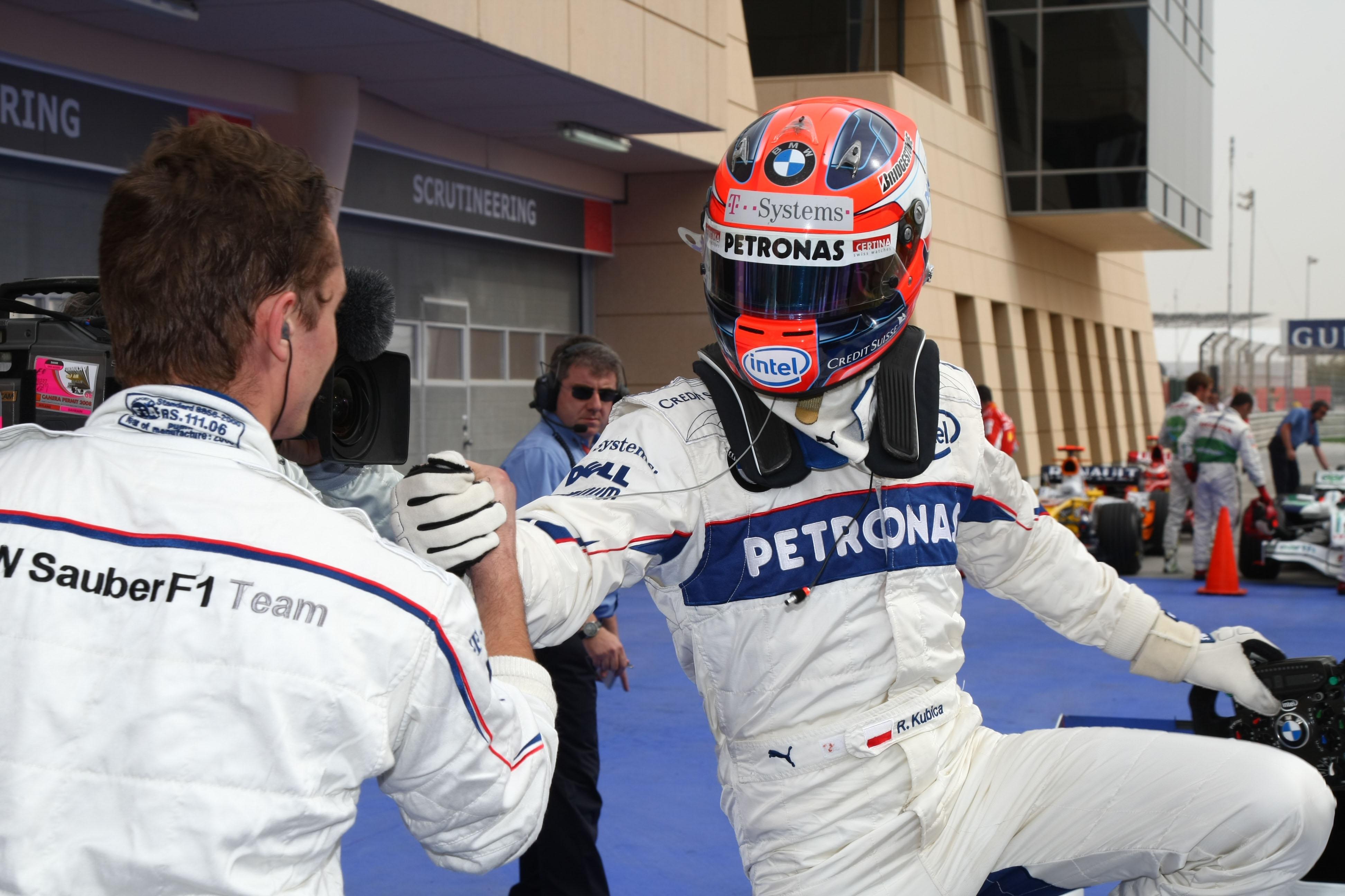 Robert Kubica, BMW Sauber, Bahrain 2008, F1