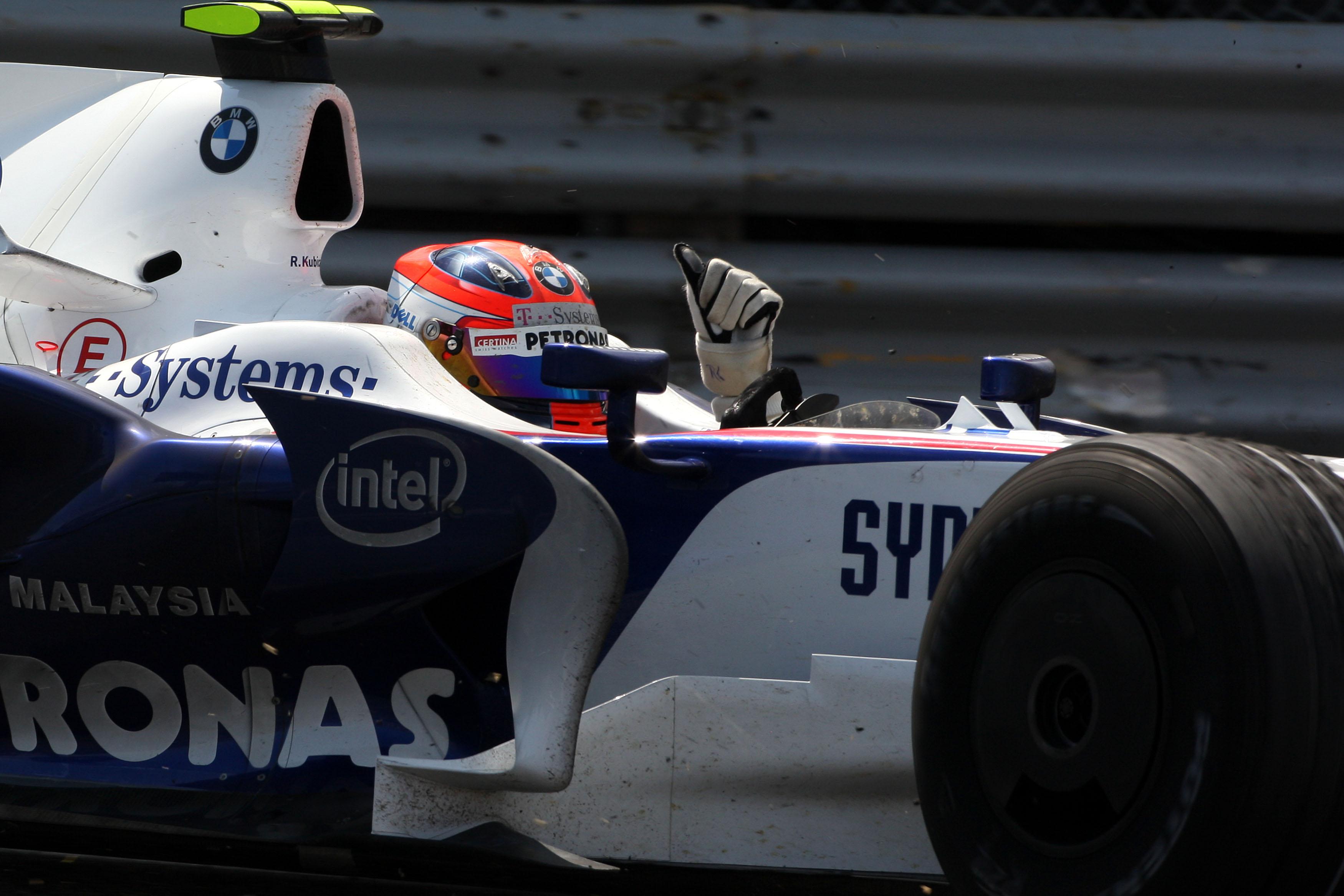 Robert Kubica, 2008 Canadian GP winner, BMW Sauber, F1