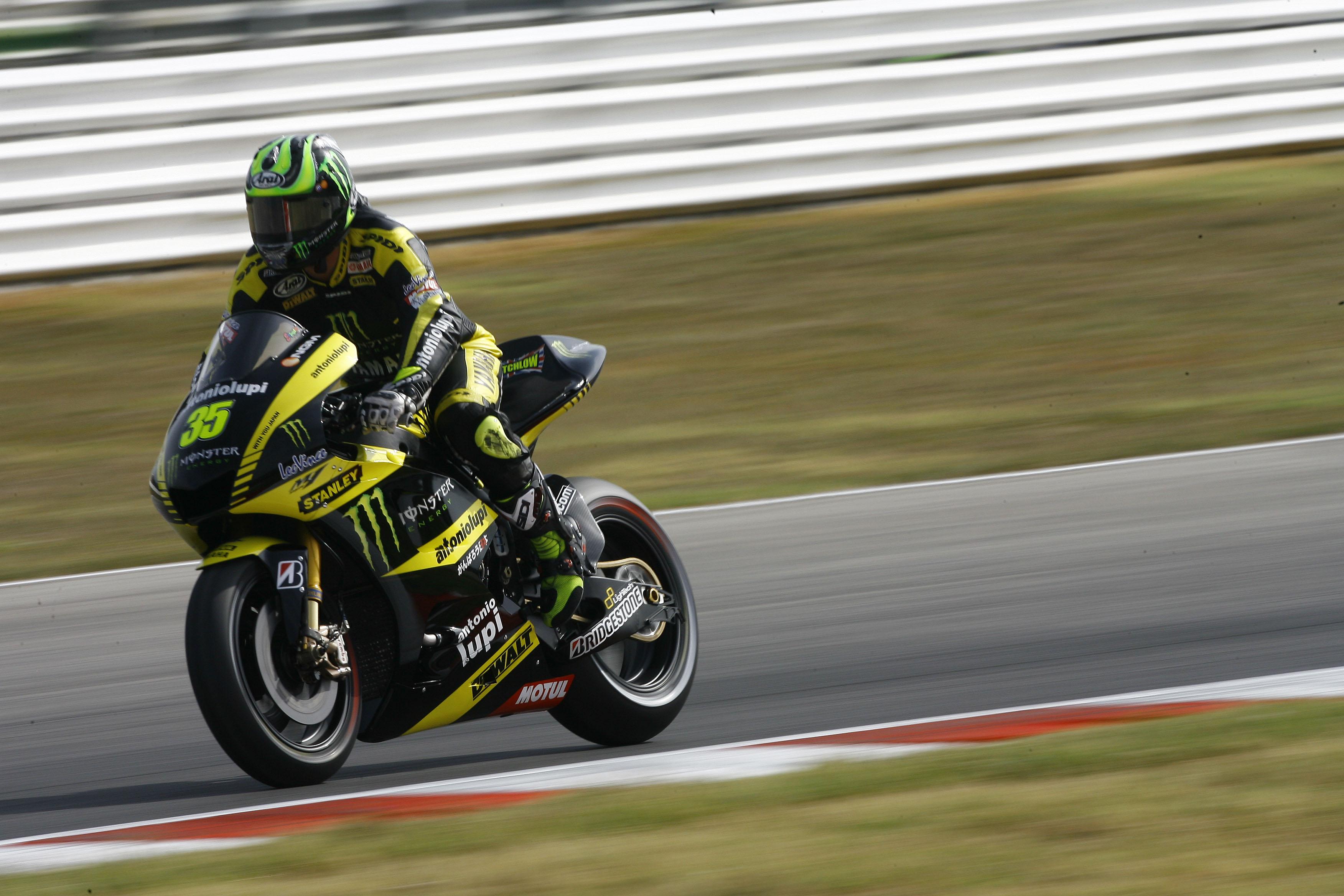 Cal Crutchlow Tech3 Yamaha Misano MotoGP 2011
