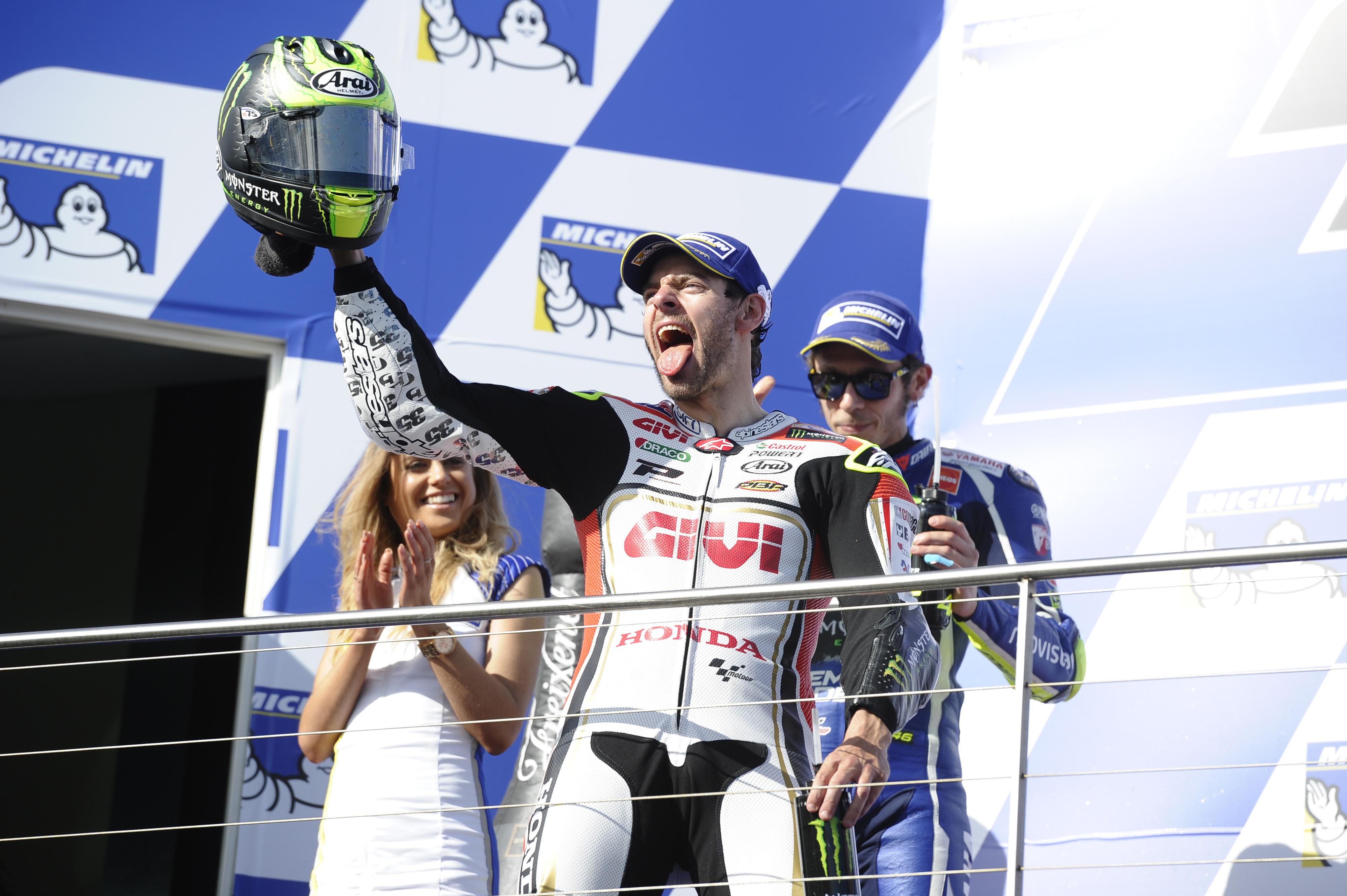 Cal Crutchlow wins Phillip Island MotoGP 2016
