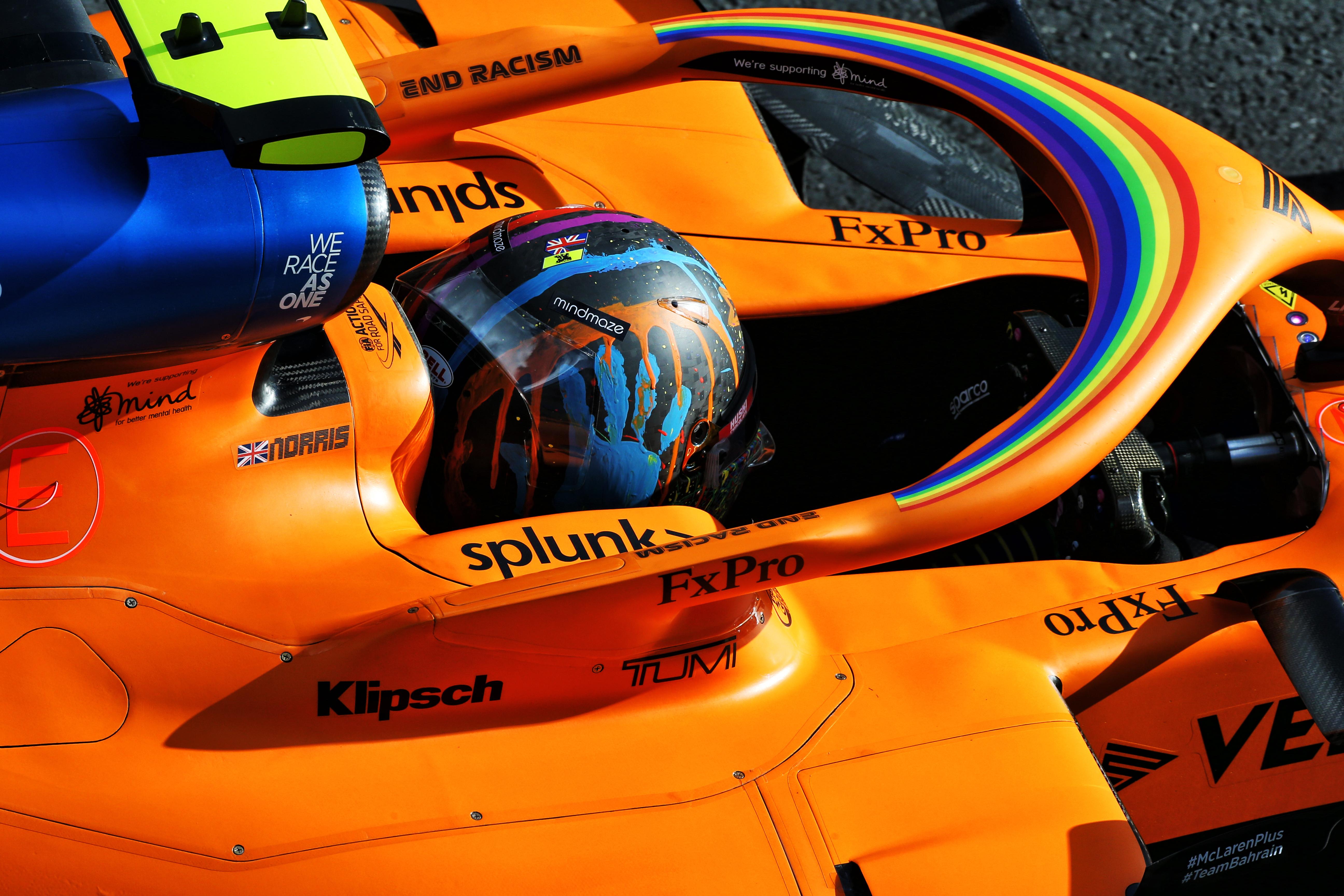 Lando Norris McLaren F1 2020