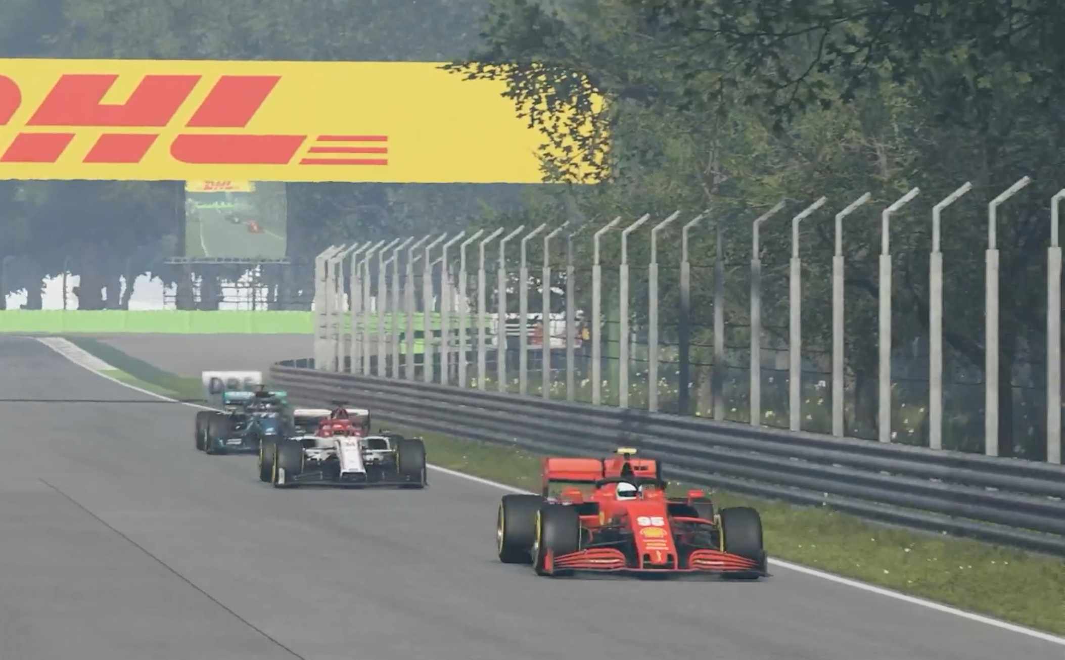 F1 Esports 2020 Monza Tonizza, Opmeer, Leigh Pic 3