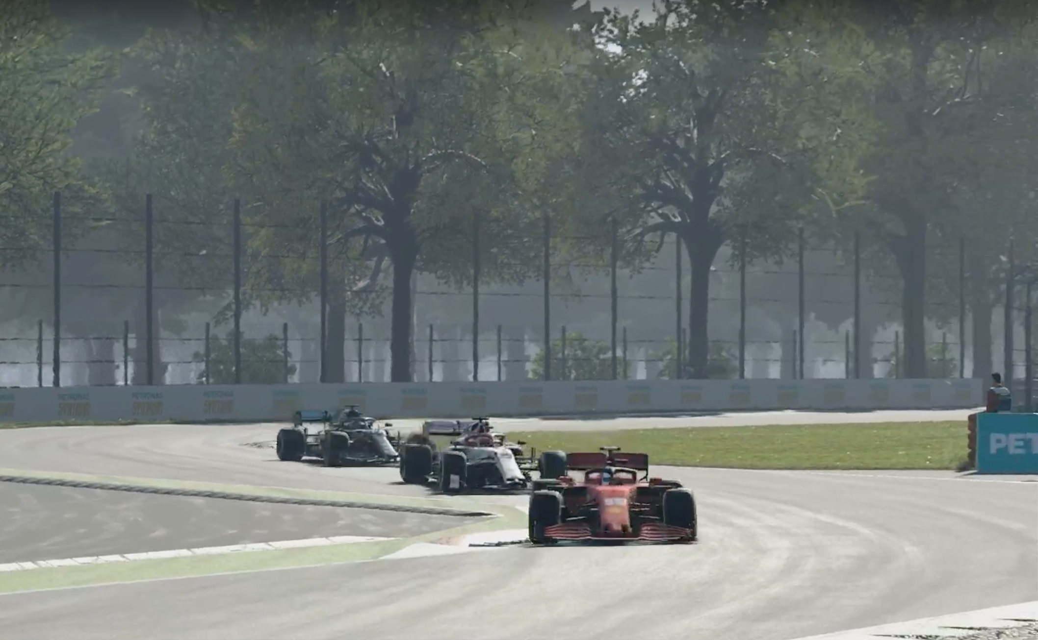 F1 Esports 2020 Monza Tonizza, Opmeer, Leigh Pic 1