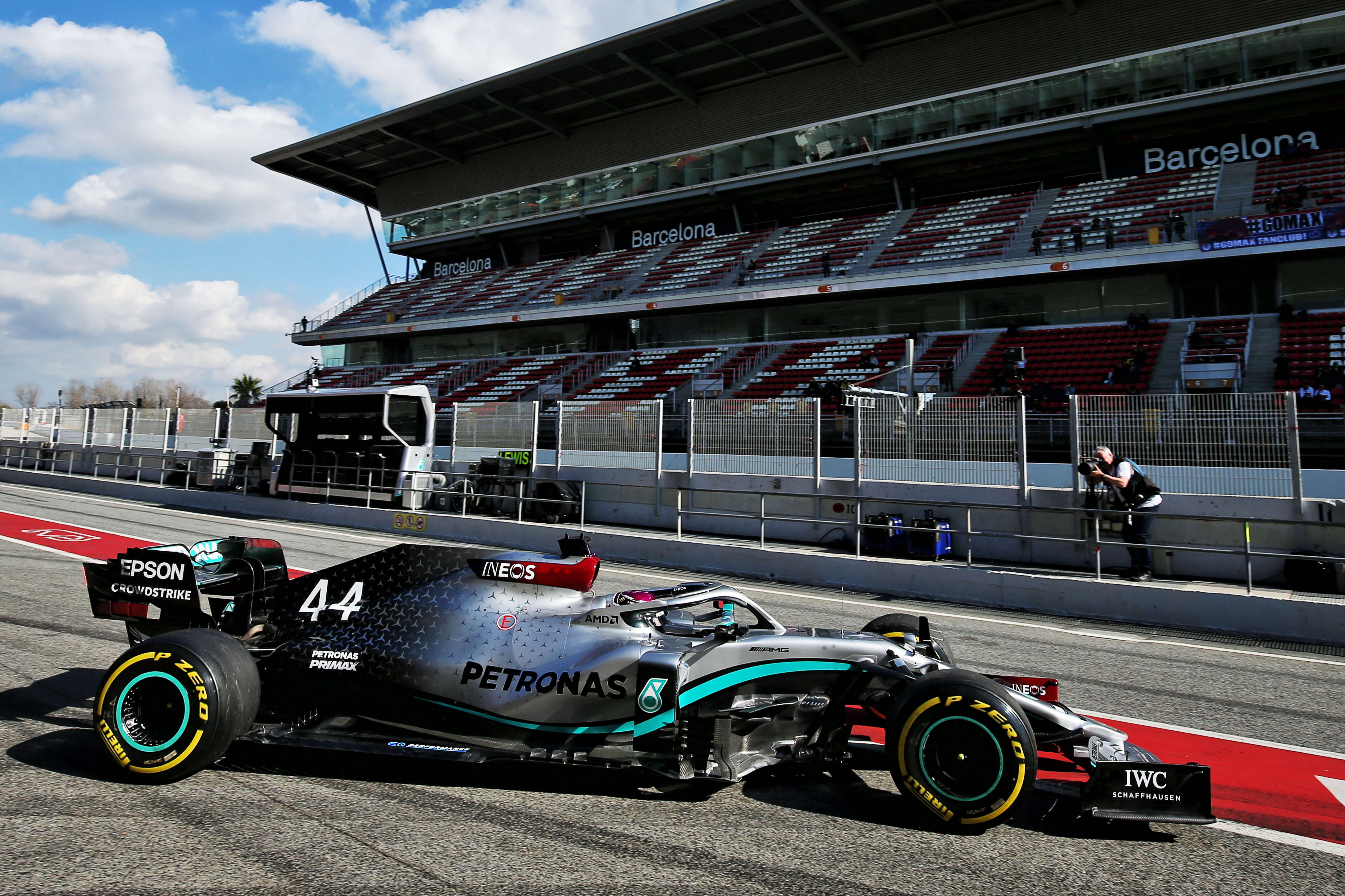 Motor Racing Formula One Testing Test One Day 1 Barcelona, Spain