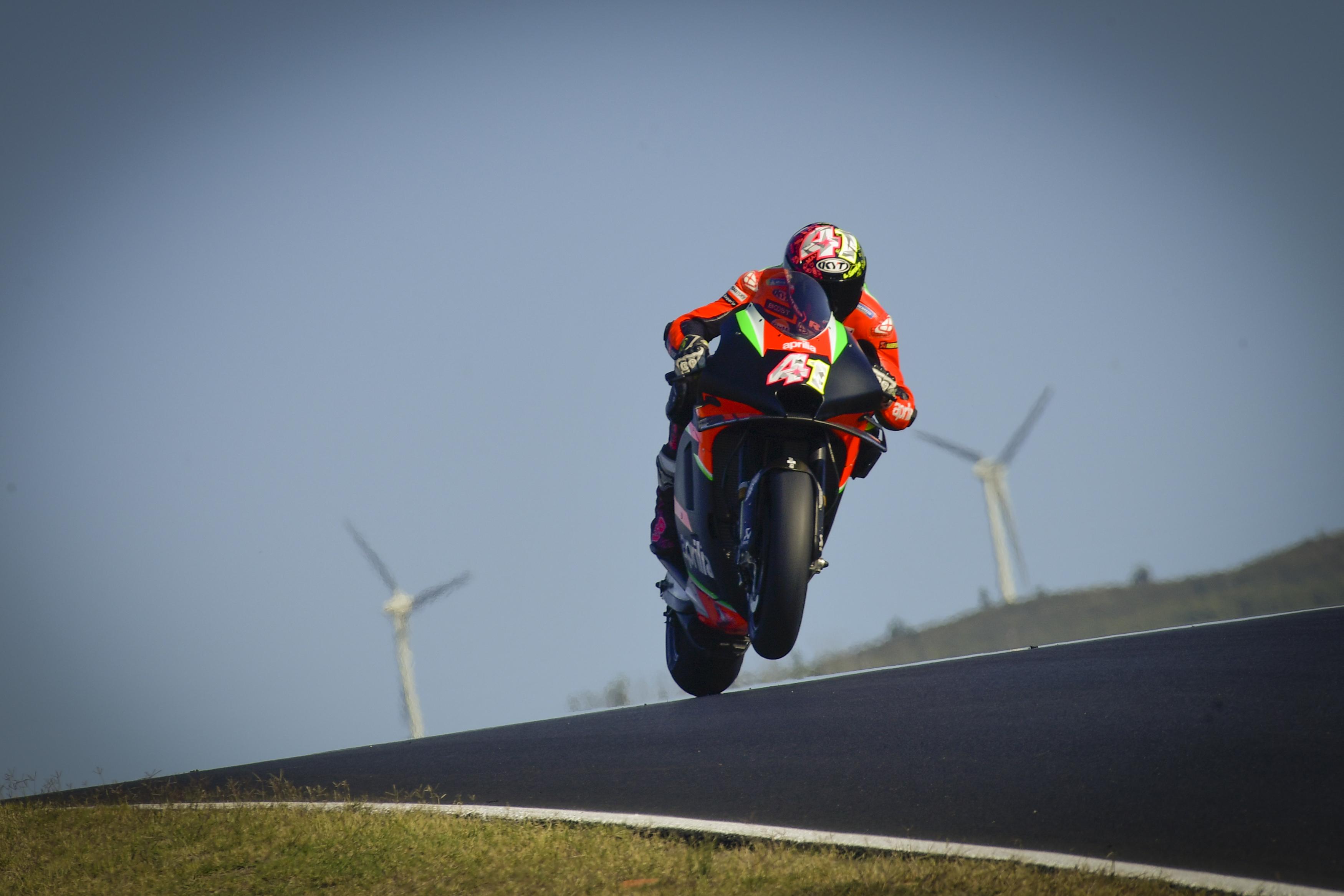 Aleix Espargaro Aprilia Algarve MotoGP test 2020