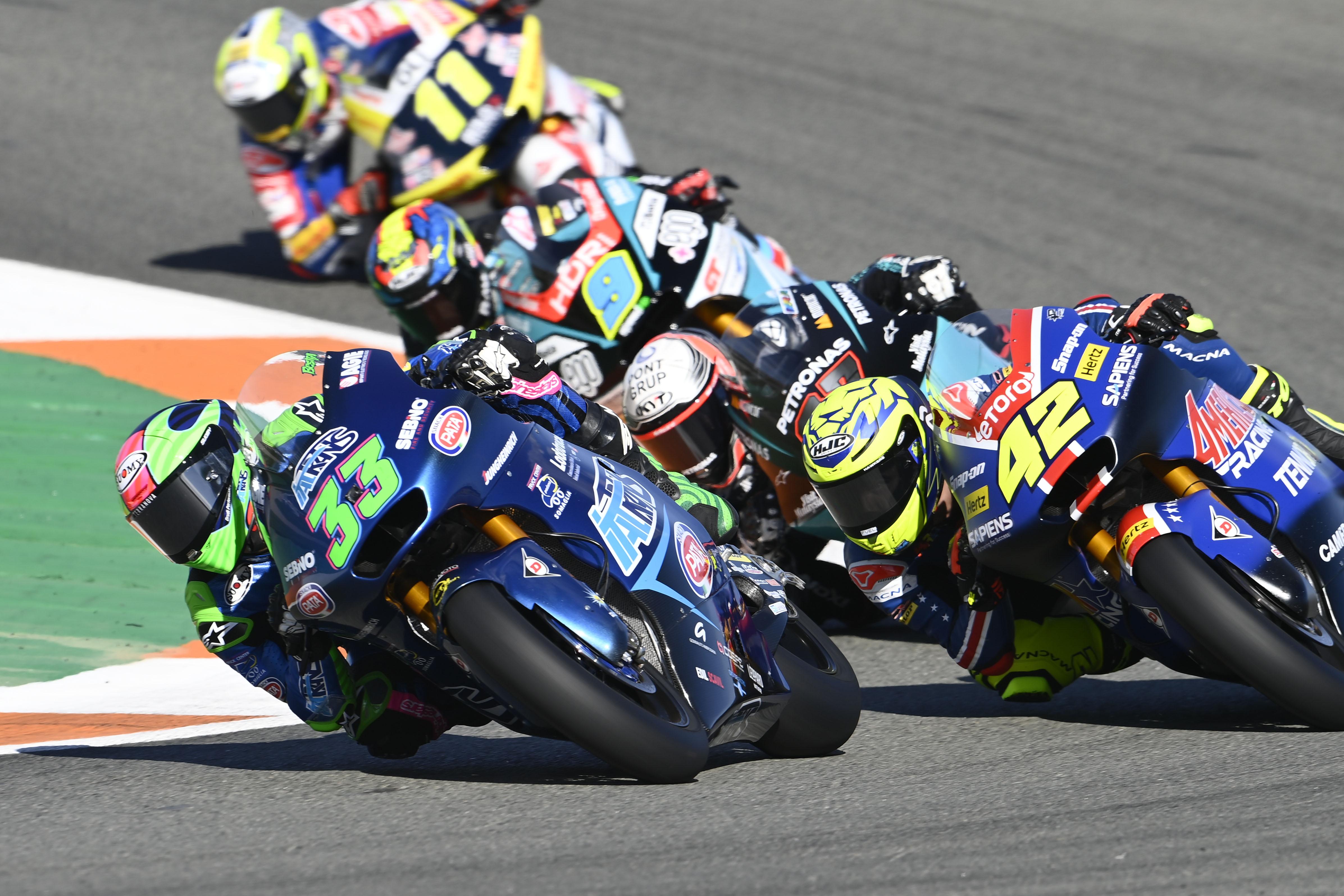 Enea Bastianini Moto2 Valencia 2020