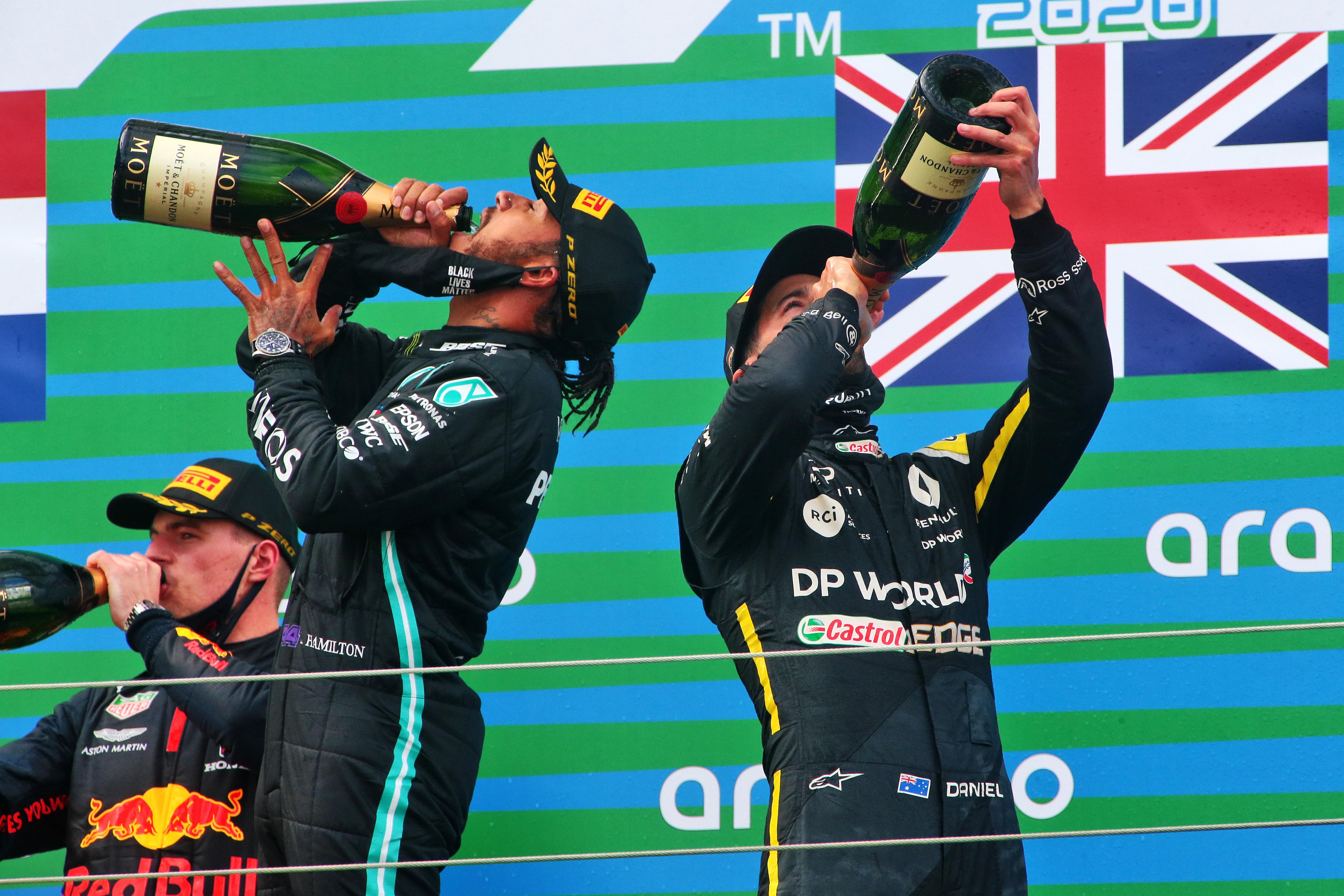 Max Verstappen Lewis Hamilton Daniel Ricciardo