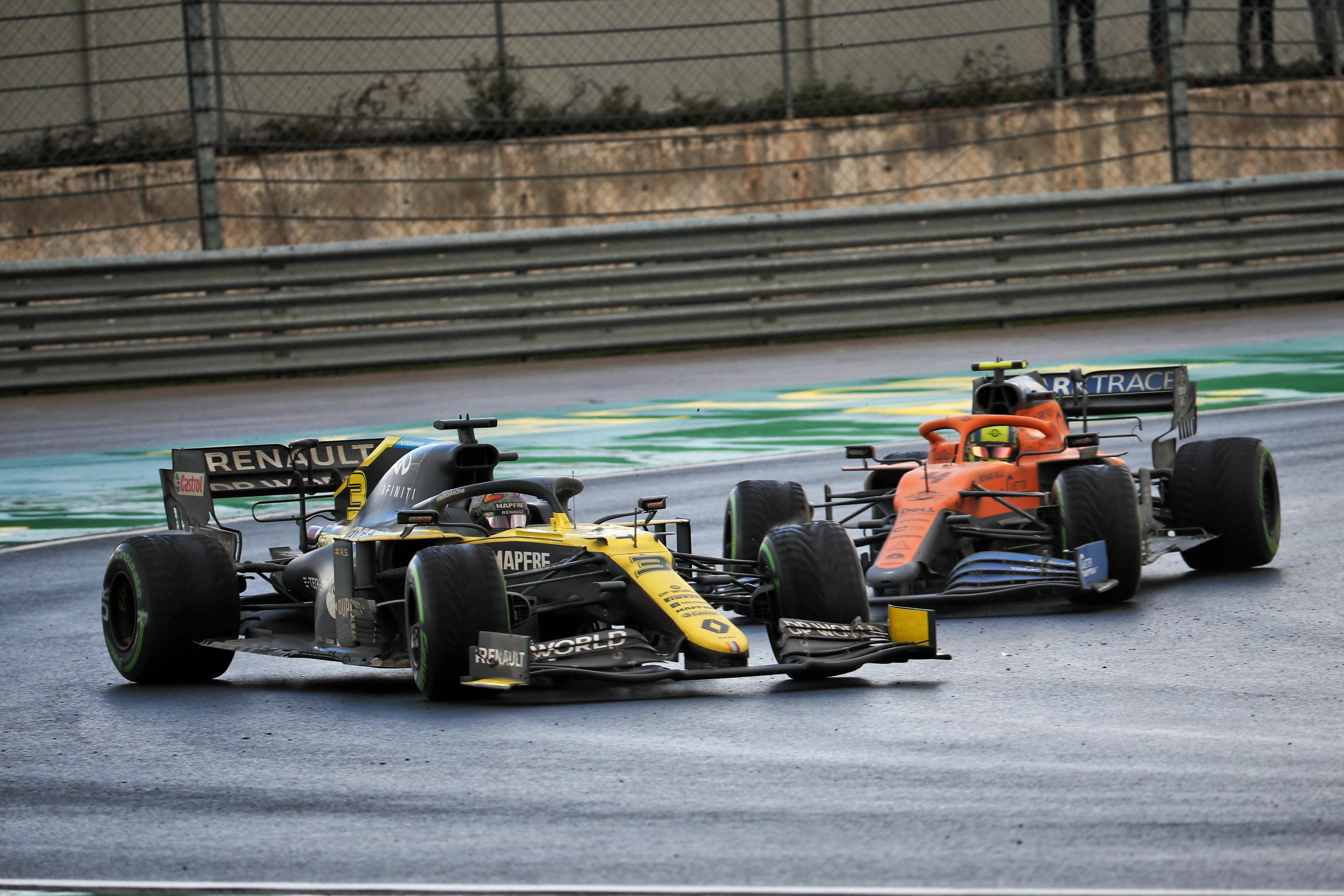 Daniel Ricciardo Renault Lando Norris McLaren Turkish Grand Prix 2020 Istanbul