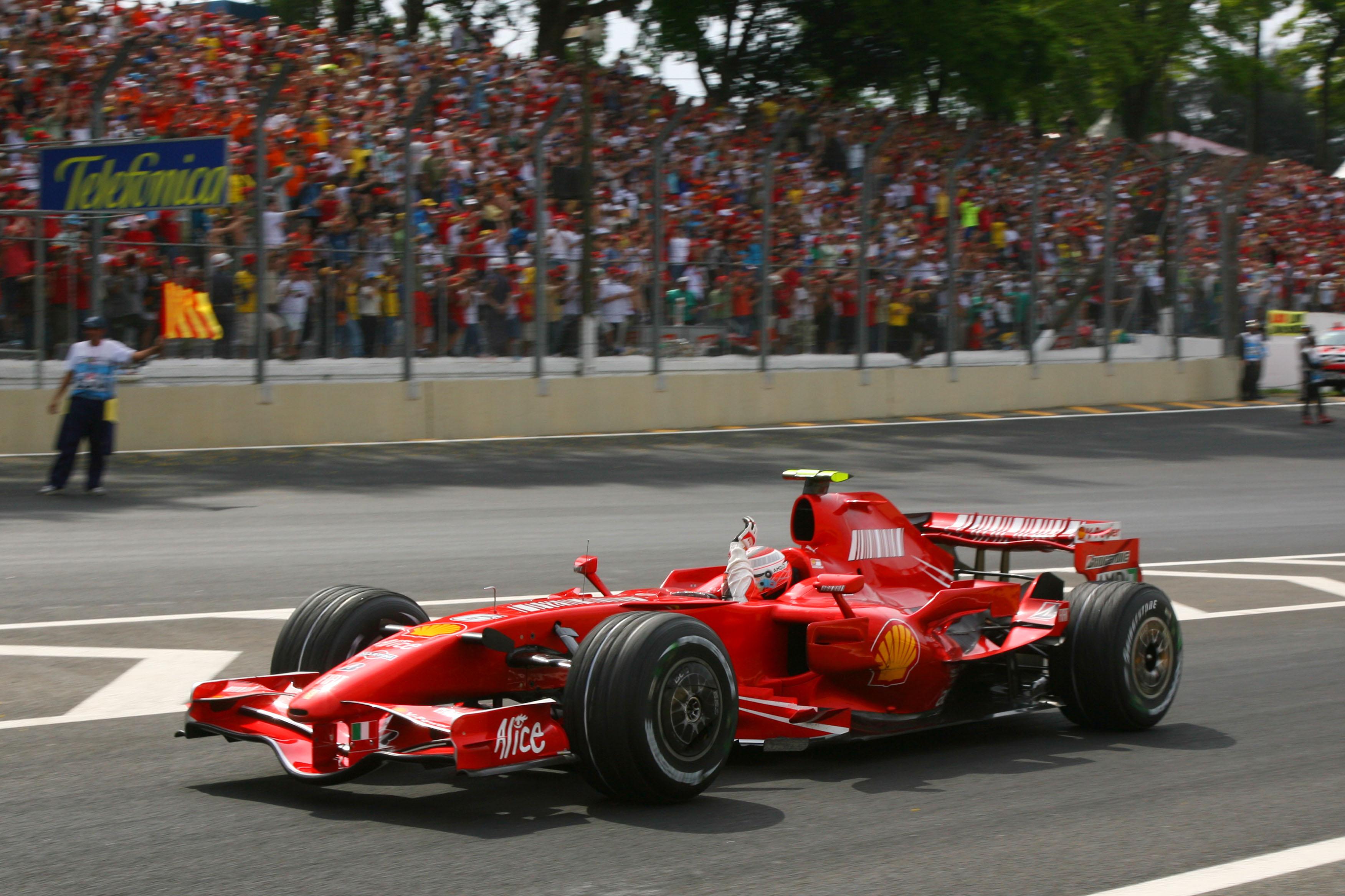 Formula 1 Grand Prix, Brazil, Sunday Podium